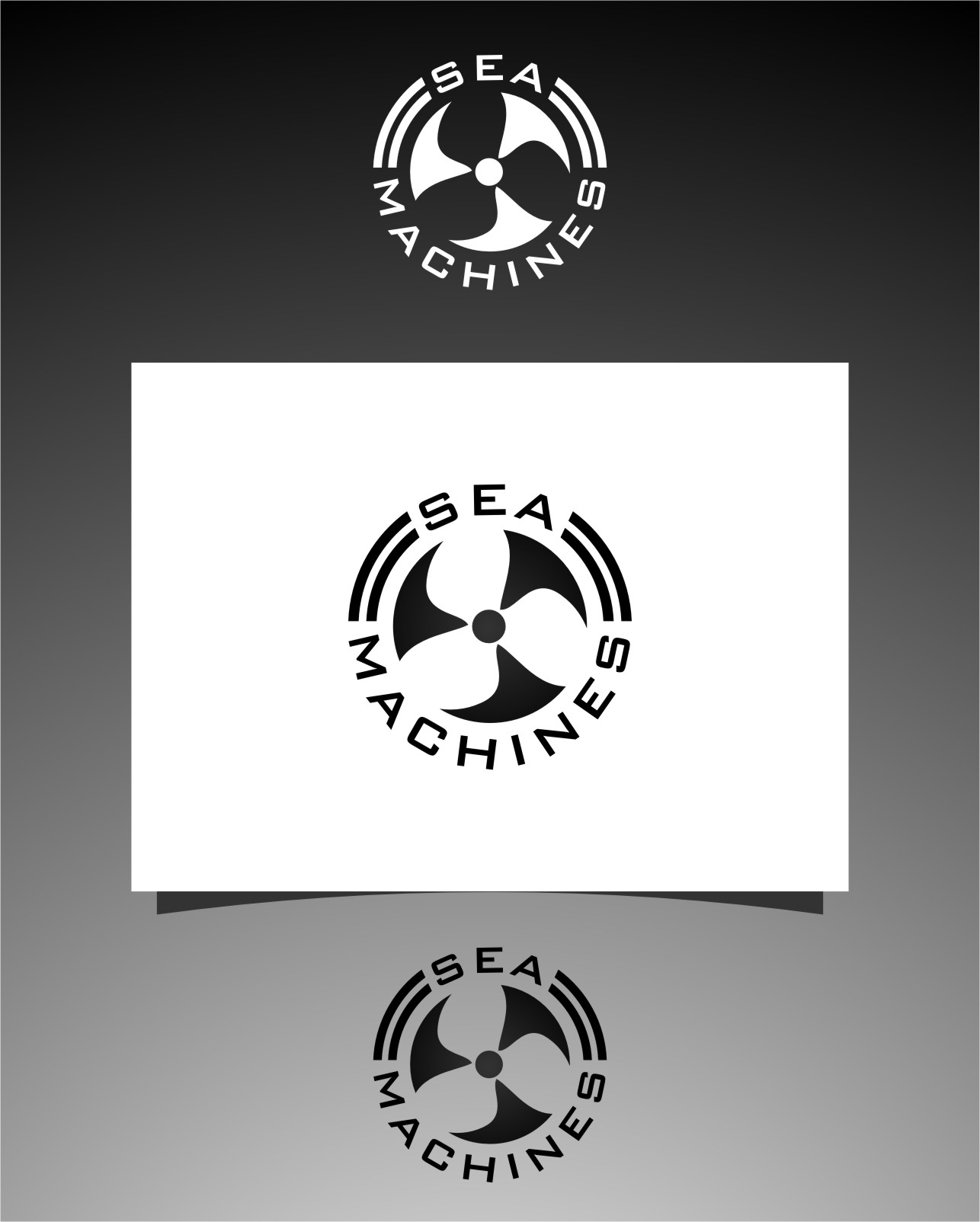 Logo Design by Ngepet_art - Entry No. 154 in the Logo Design Contest Creative Logo Design for SeaMachines.