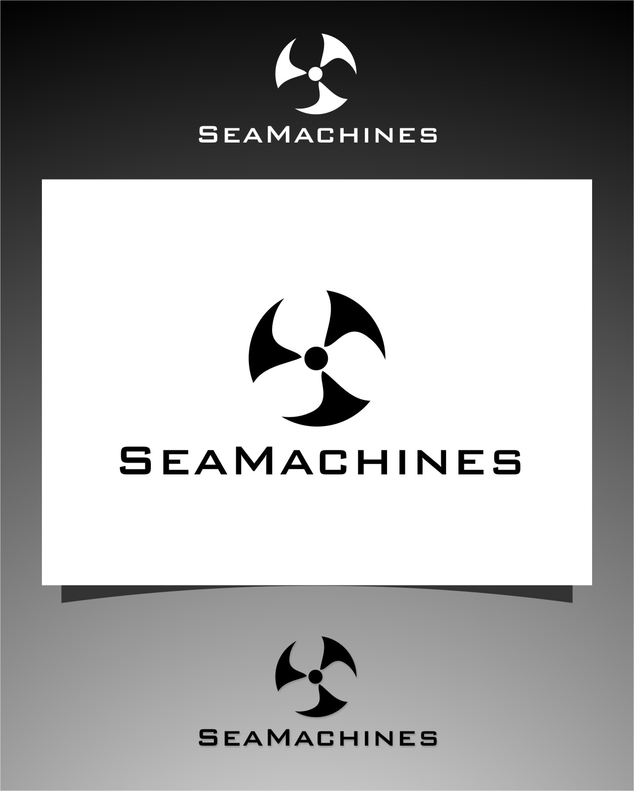 Logo Design by RoSyid Rono-Rene On Java - Entry No. 155 in the Logo Design Contest Creative Logo Design for SeaMachines.