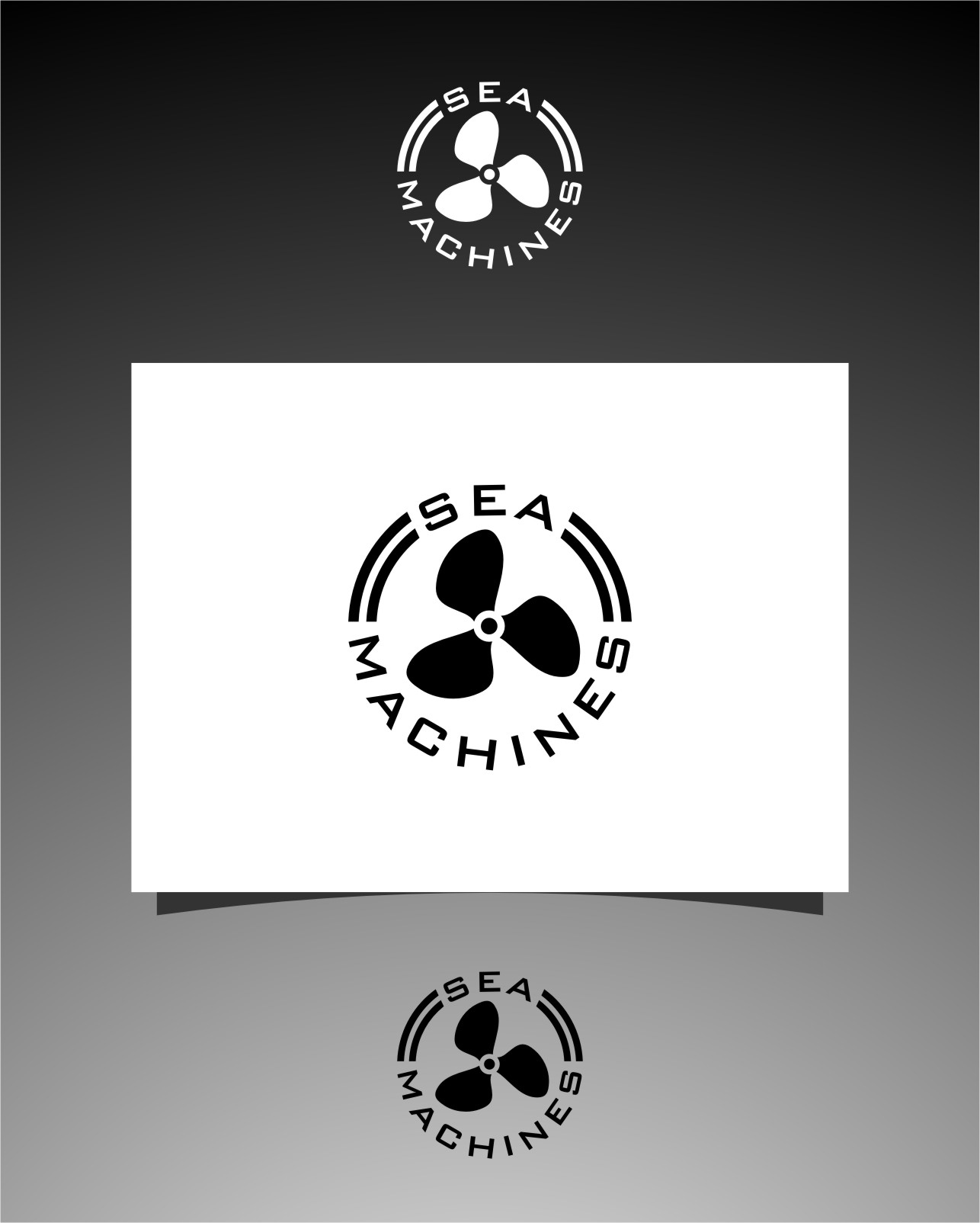 Logo Design by RasYa Muhammad Athaya - Entry No. 156 in the Logo Design Contest Creative Logo Design for SeaMachines.