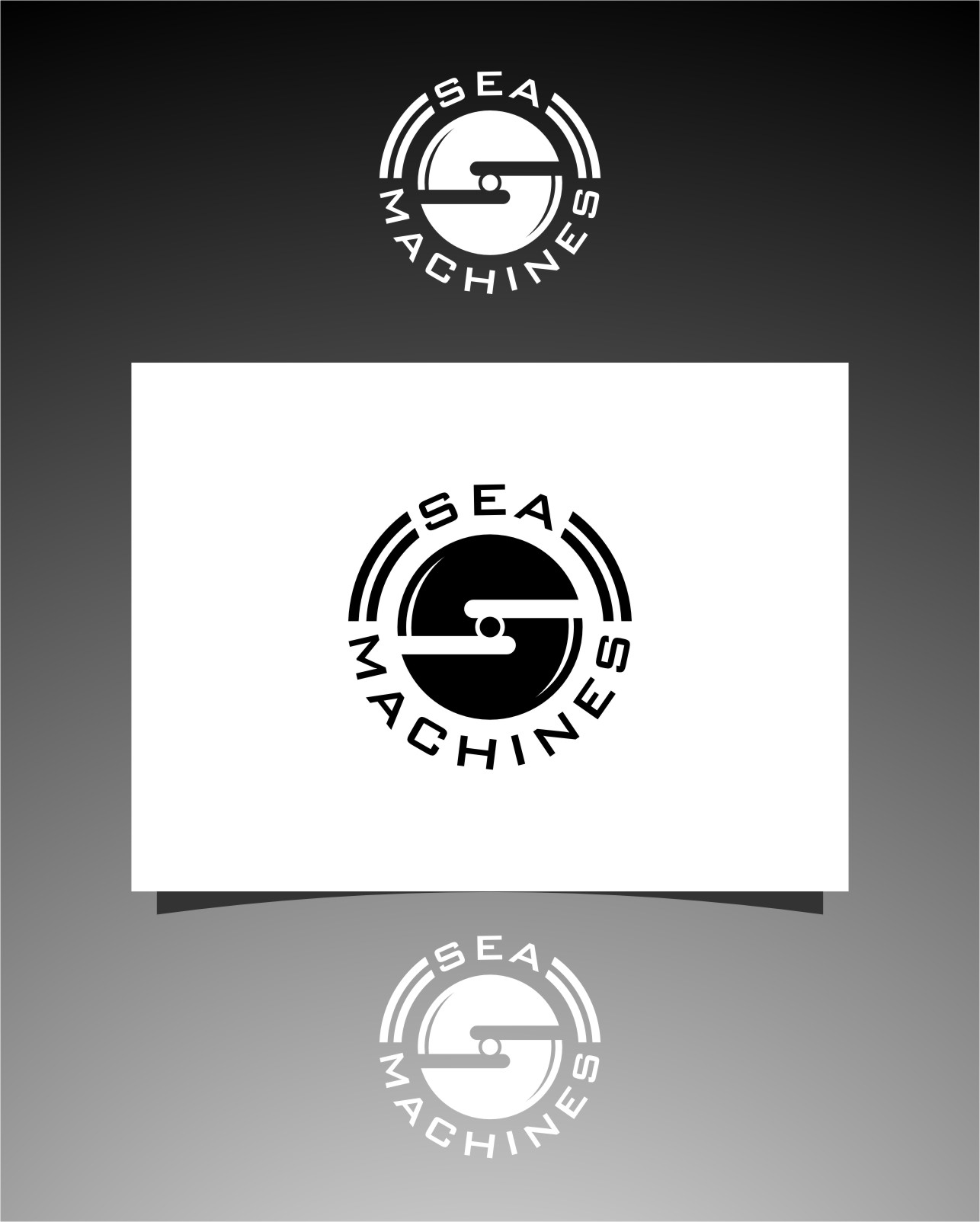 Logo Design by Ngepet_art - Entry No. 157 in the Logo Design Contest Creative Logo Design for SeaMachines.