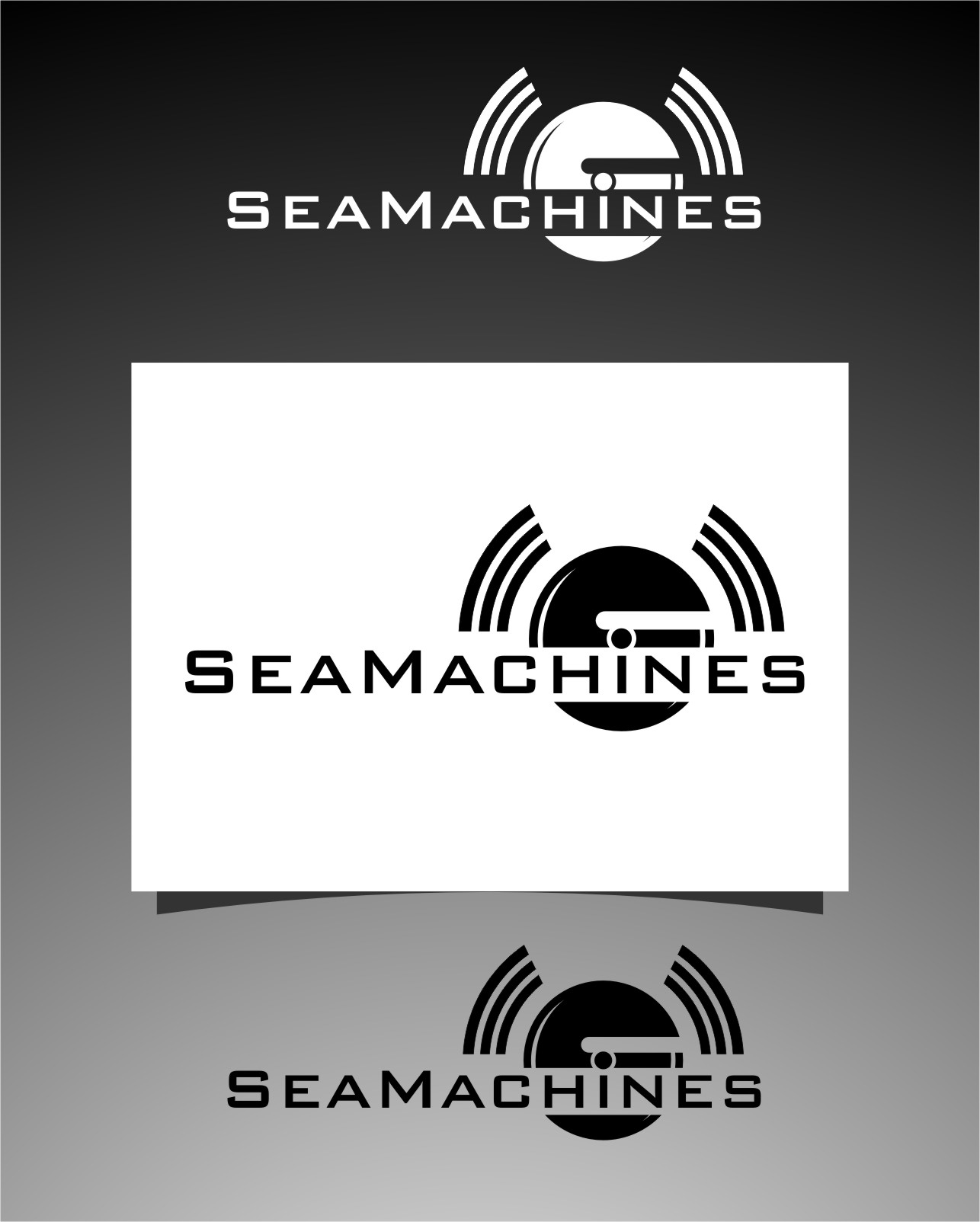 Logo Design by Ngepet_art - Entry No. 158 in the Logo Design Contest Creative Logo Design for SeaMachines.