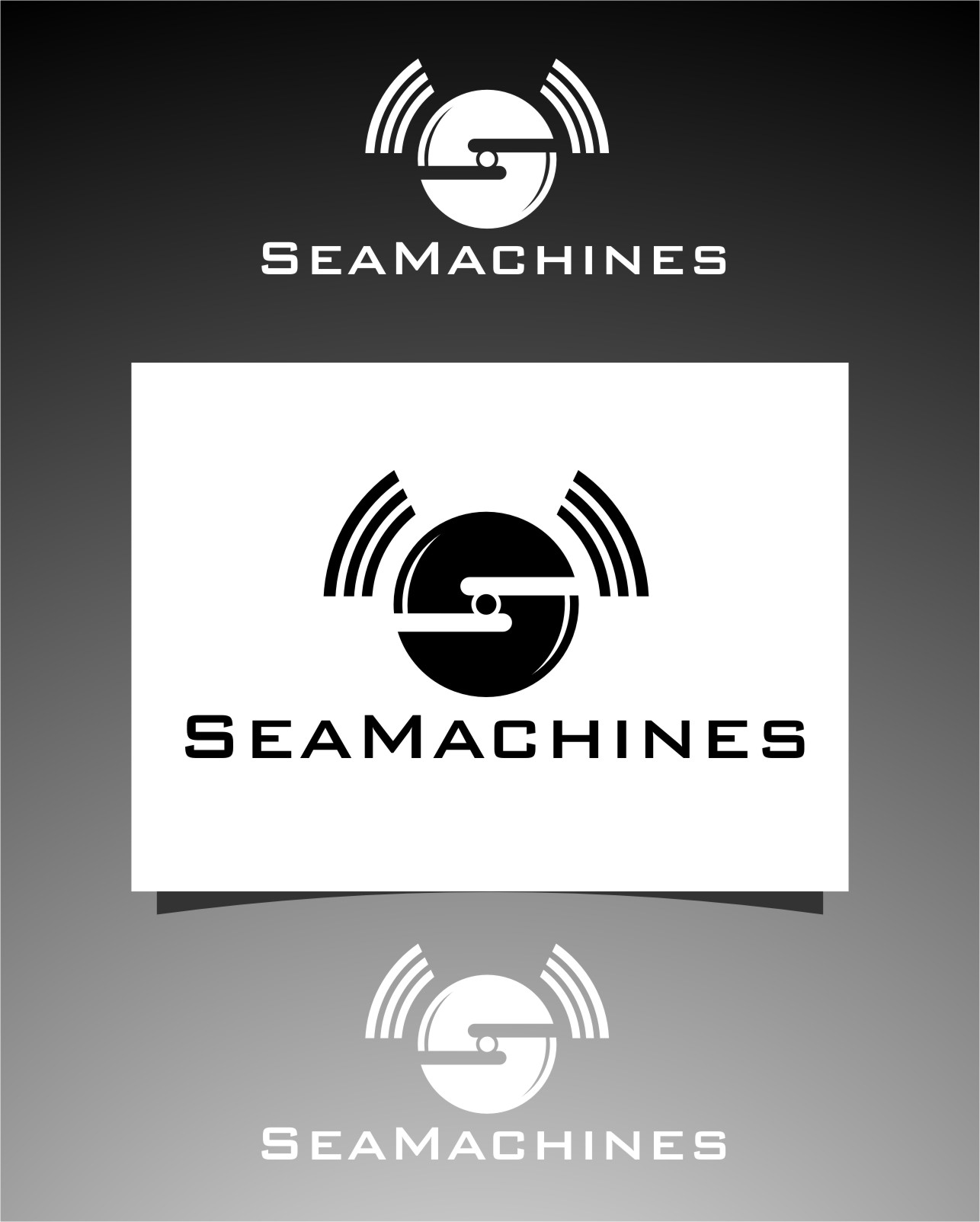 Logo Design by Ngepet_art - Entry No. 159 in the Logo Design Contest Creative Logo Design for SeaMachines.