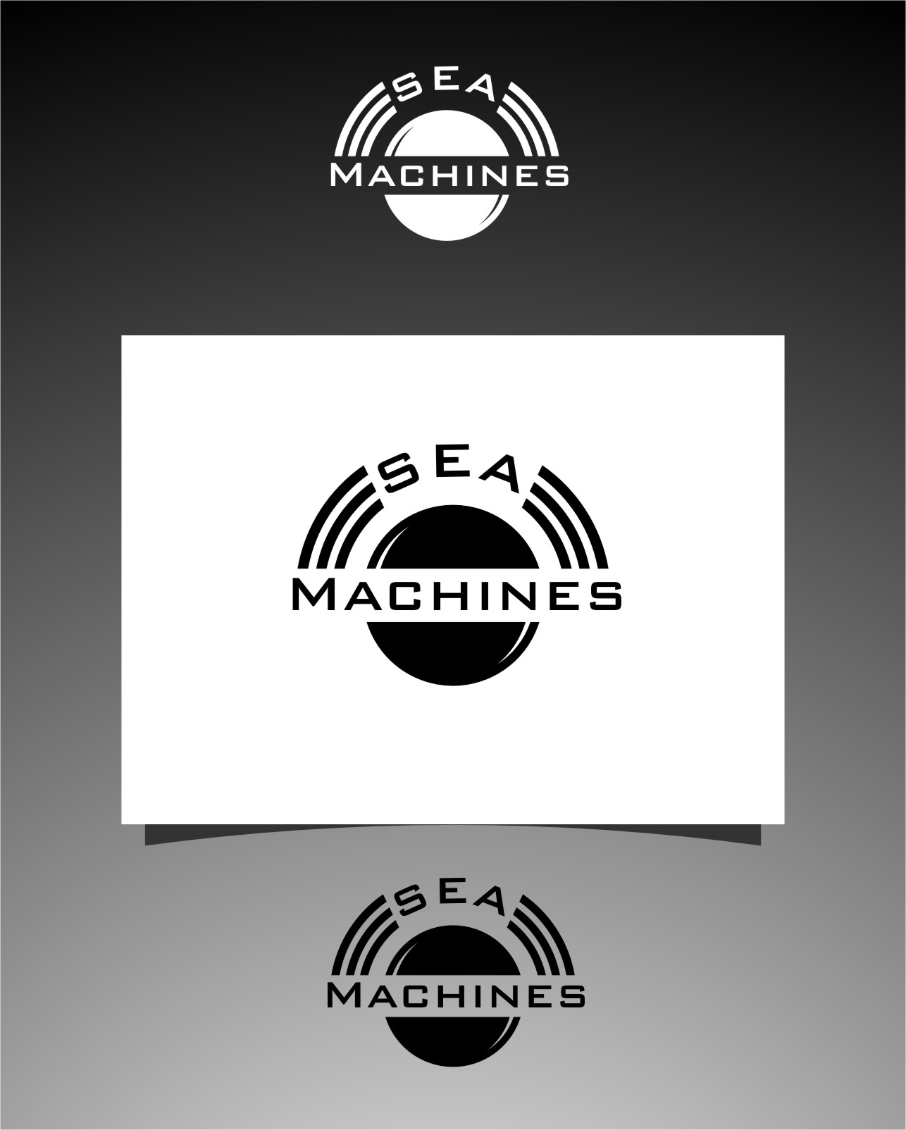 Logo Design by RasYa Muhammad Athaya - Entry No. 160 in the Logo Design Contest Creative Logo Design for SeaMachines.