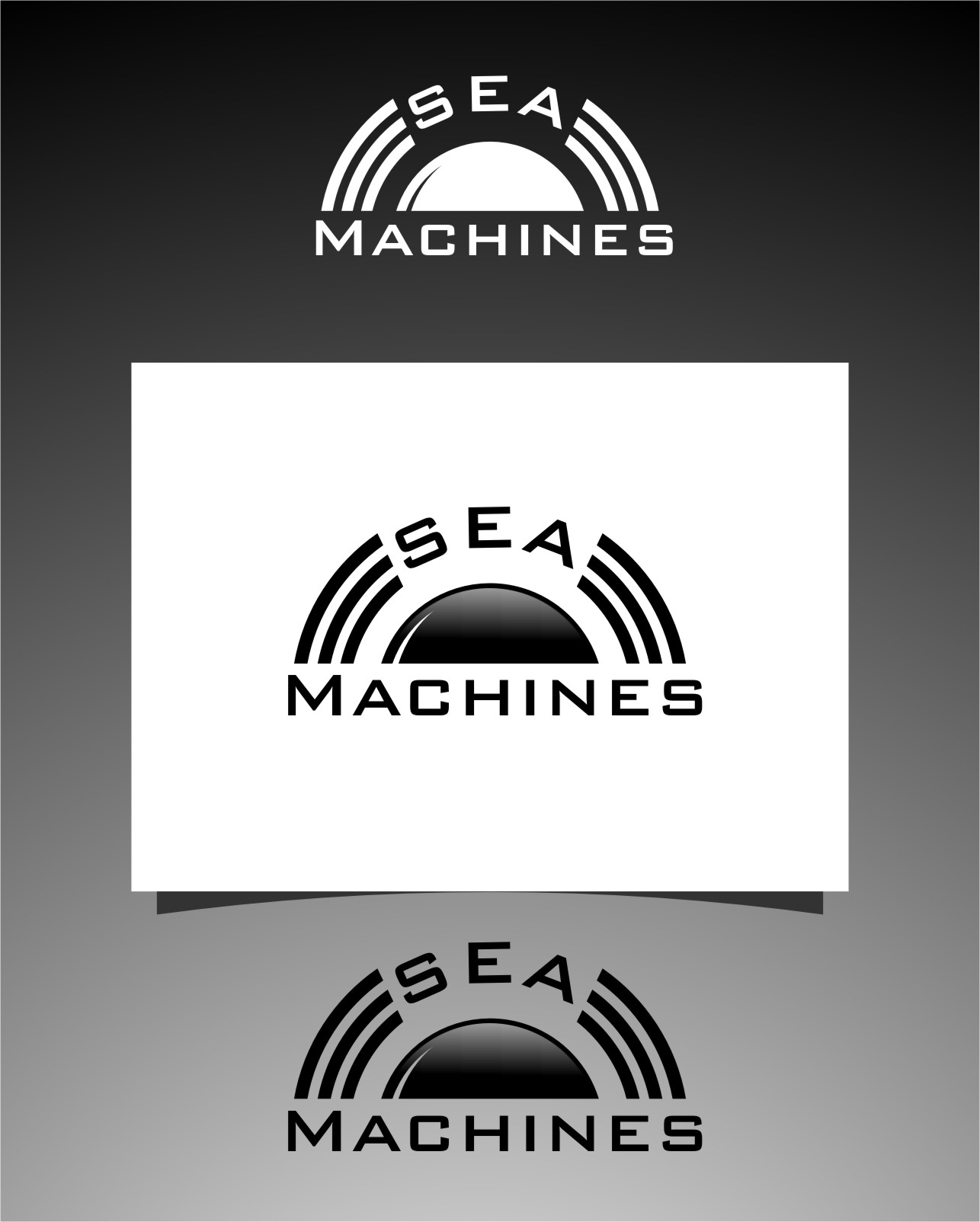 Logo Design by Ngepet_art - Entry No. 161 in the Logo Design Contest Creative Logo Design for SeaMachines.