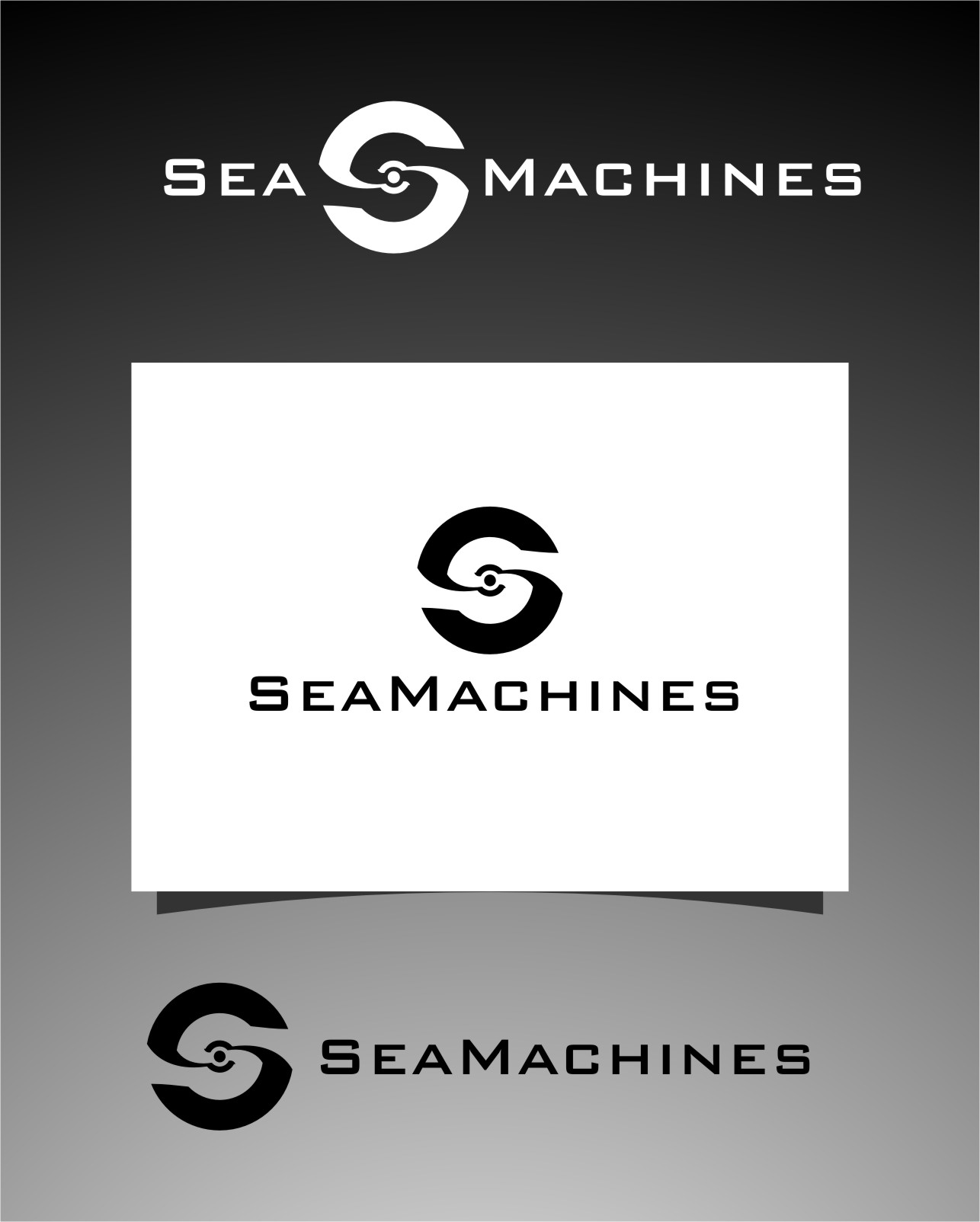 Logo Design by RasYa Muhammad Athaya - Entry No. 163 in the Logo Design Contest Creative Logo Design for SeaMachines.
