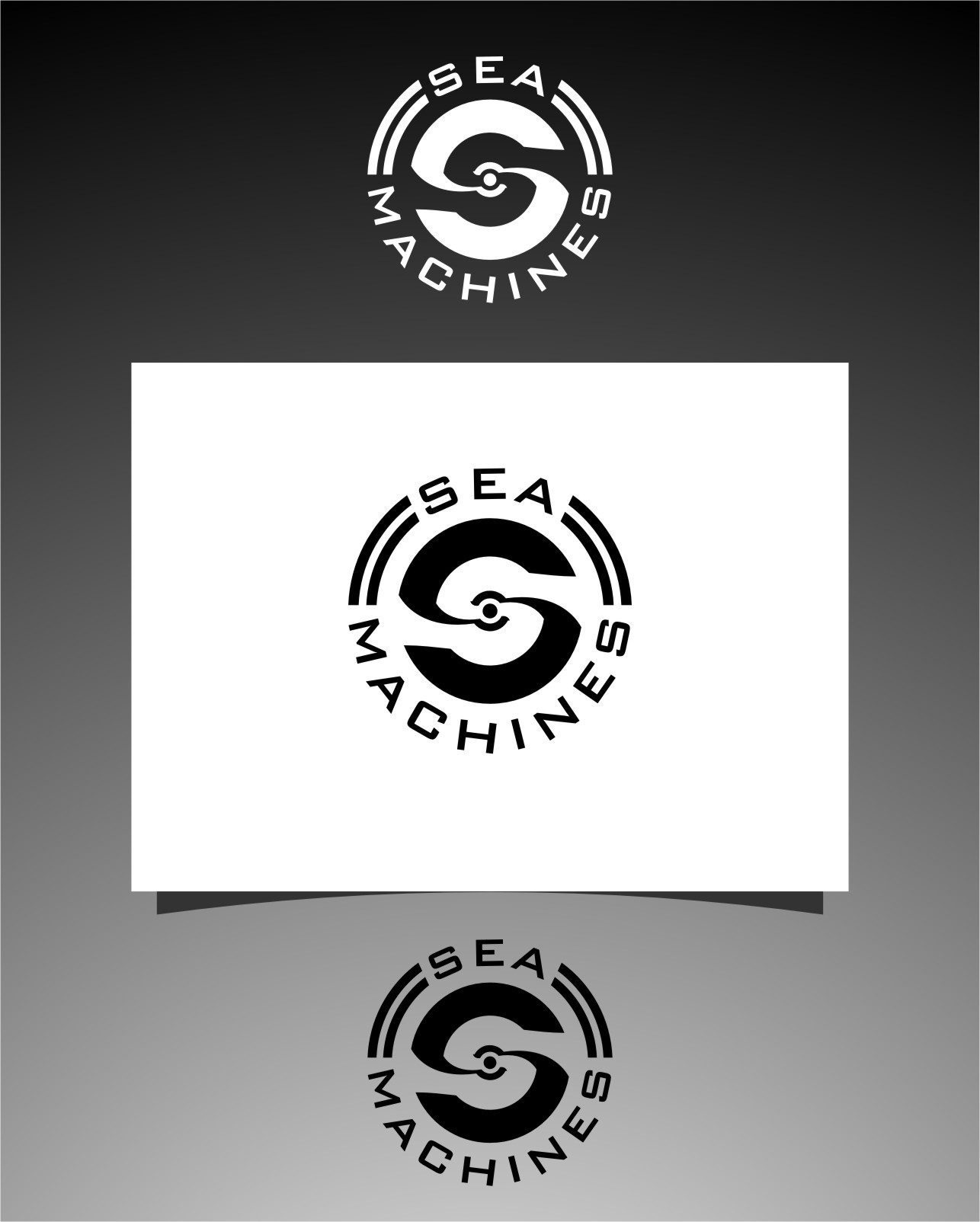 Logo Design by RasYa Muhammad Athaya - Entry No. 164 in the Logo Design Contest Creative Logo Design for SeaMachines.