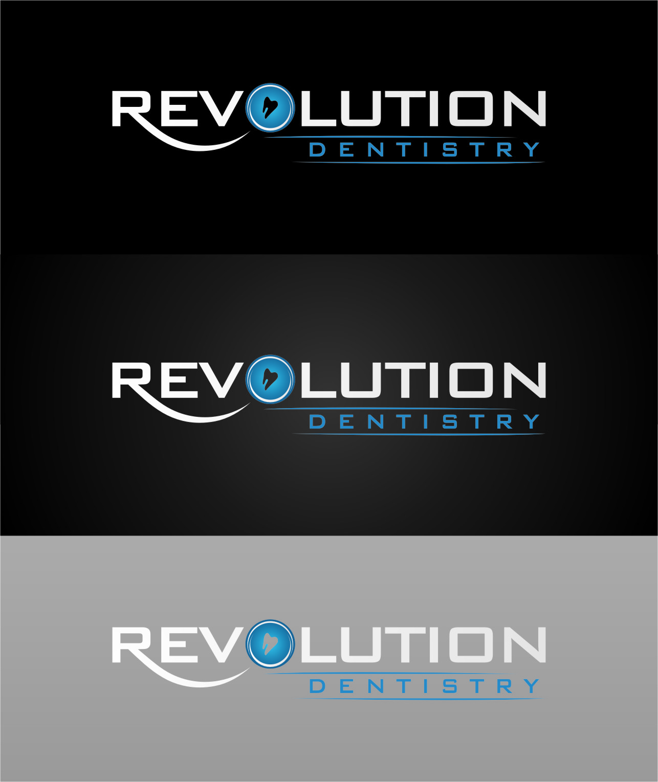 Logo Design by RasYa Muhammad Athaya - Entry No. 104 in the Logo Design Contest Artistic Logo Design for Revolution Dentistry.