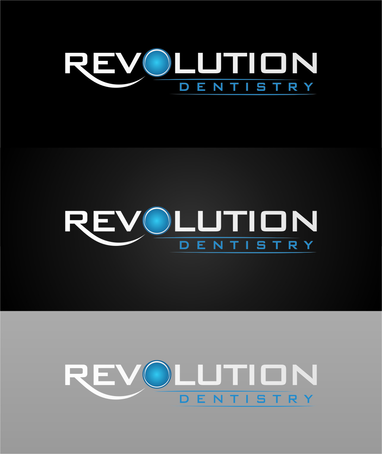 Logo Design by RoSyid Rono-Rene On Java - Entry No. 105 in the Logo Design Contest Artistic Logo Design for Revolution Dentistry.