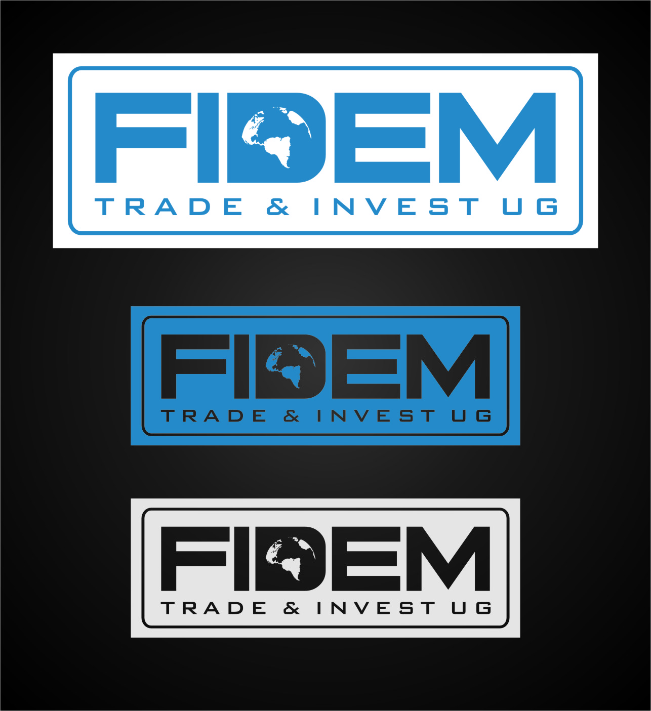 Logo Design by Ngepet_art - Entry No. 368 in the Logo Design Contest Professional Logo Design for FIDEM Trade & Invest UG.