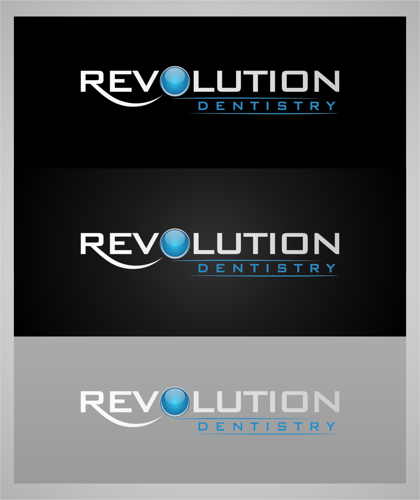 Logo Design by RasYa Muhammad Athaya - Entry No. 106 in the Logo Design Contest Artistic Logo Design for Revolution Dentistry.