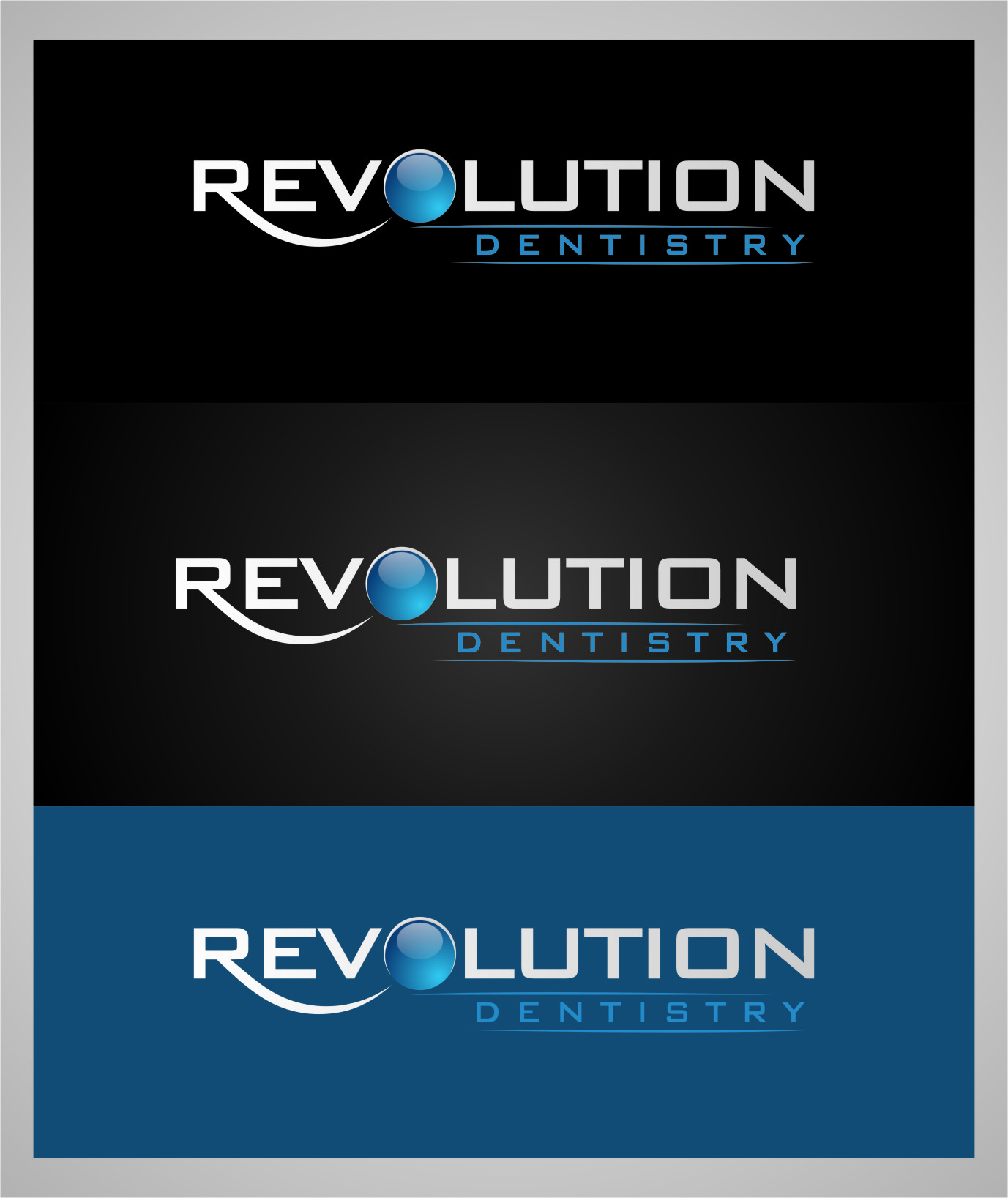 Logo Design by RasYa Muhammad Athaya - Entry No. 107 in the Logo Design Contest Artistic Logo Design for Revolution Dentistry.