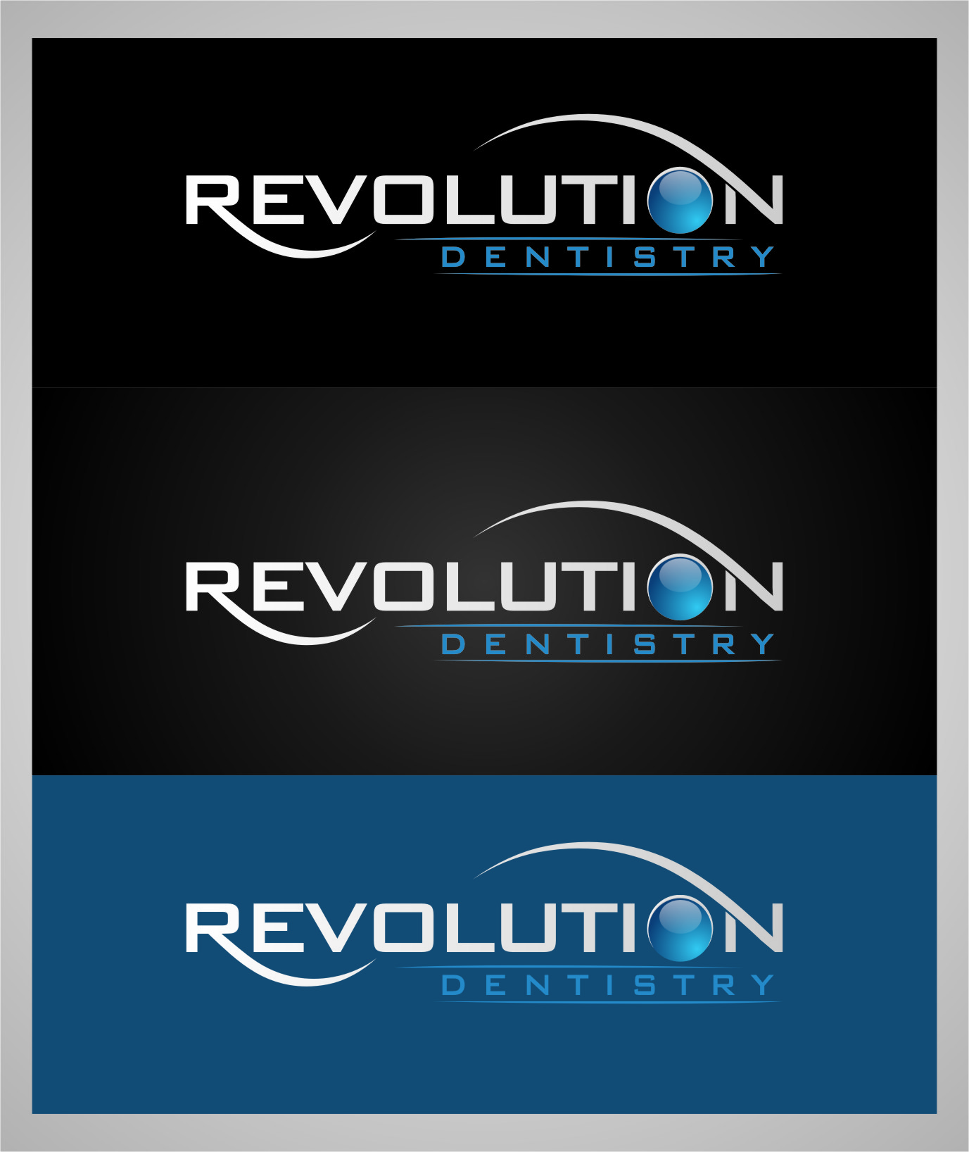 Logo Design by RasYa Muhammad Athaya - Entry No. 108 in the Logo Design Contest Artistic Logo Design for Revolution Dentistry.