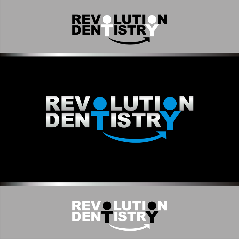 Logo Design by Heru budi Santoso - Entry No. 123 in the Logo Design Contest Artistic Logo Design for Revolution Dentistry.
