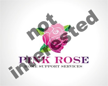Logo Design by stormbighit - Entry No. 133 in the Logo Design Contest Pink Rose Home Support Services.