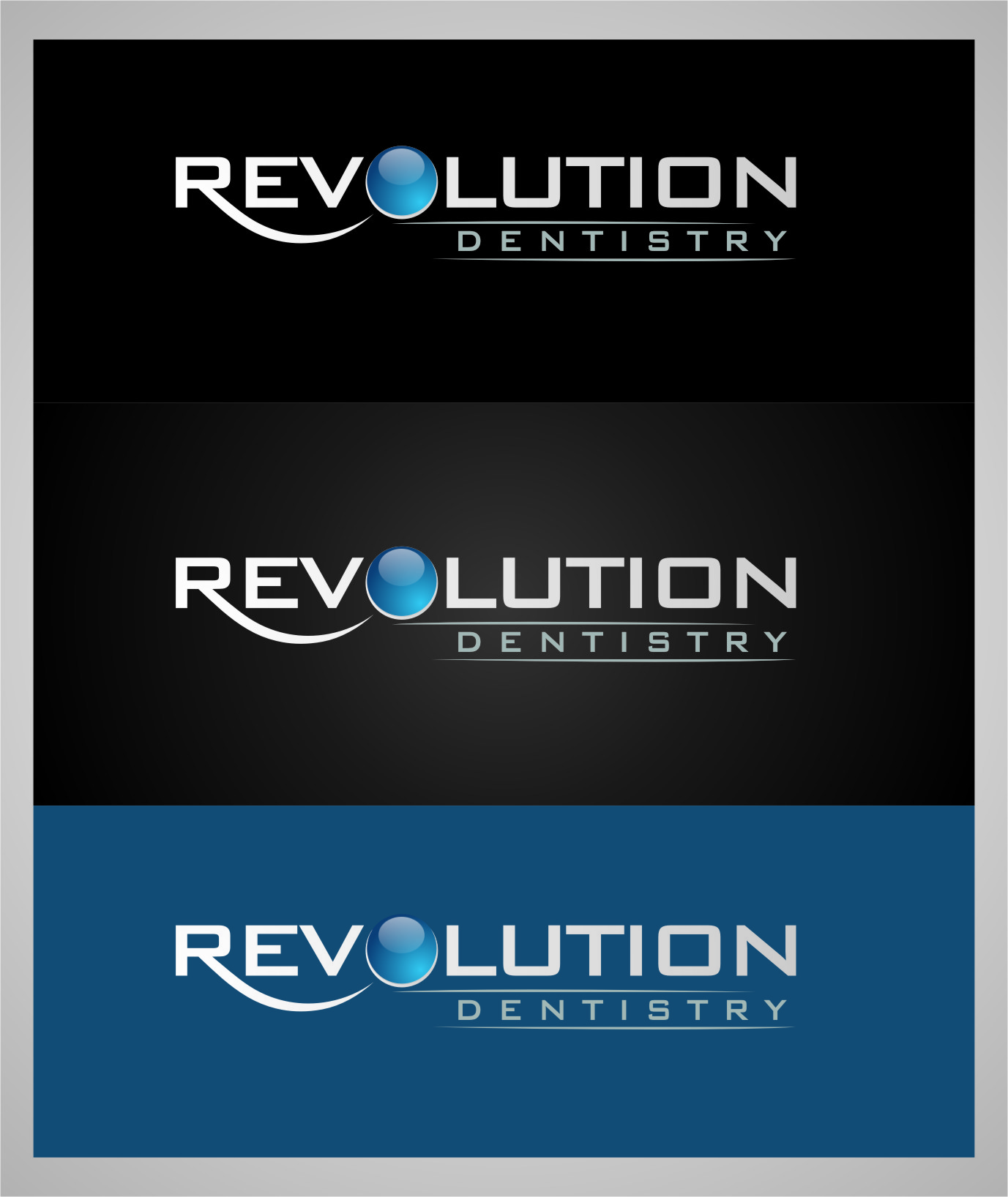Logo Design by RasYa Muhammad Athaya - Entry No. 126 in the Logo Design Contest Artistic Logo Design for Revolution Dentistry.