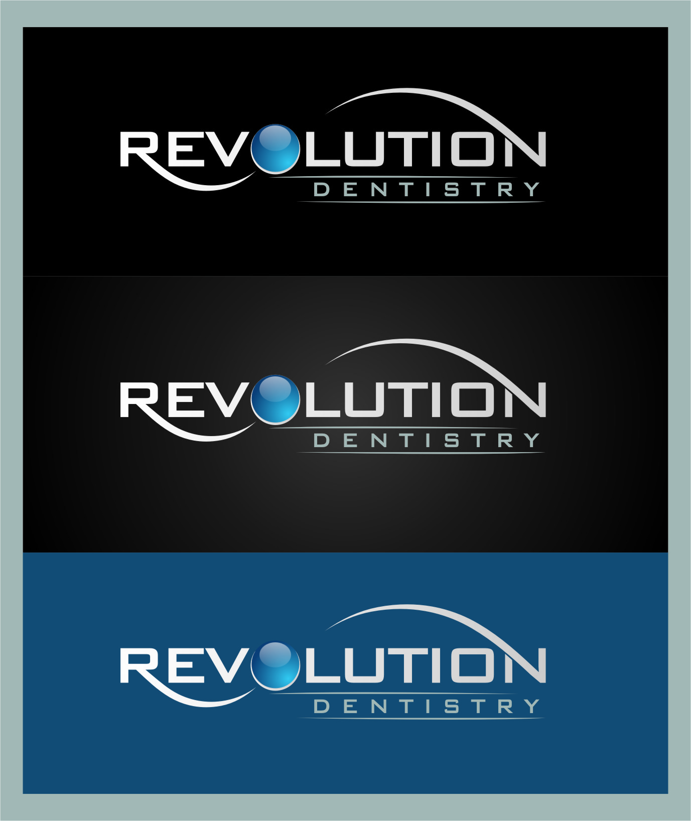 Logo Design by RasYa Muhammad Athaya - Entry No. 127 in the Logo Design Contest Artistic Logo Design for Revolution Dentistry.