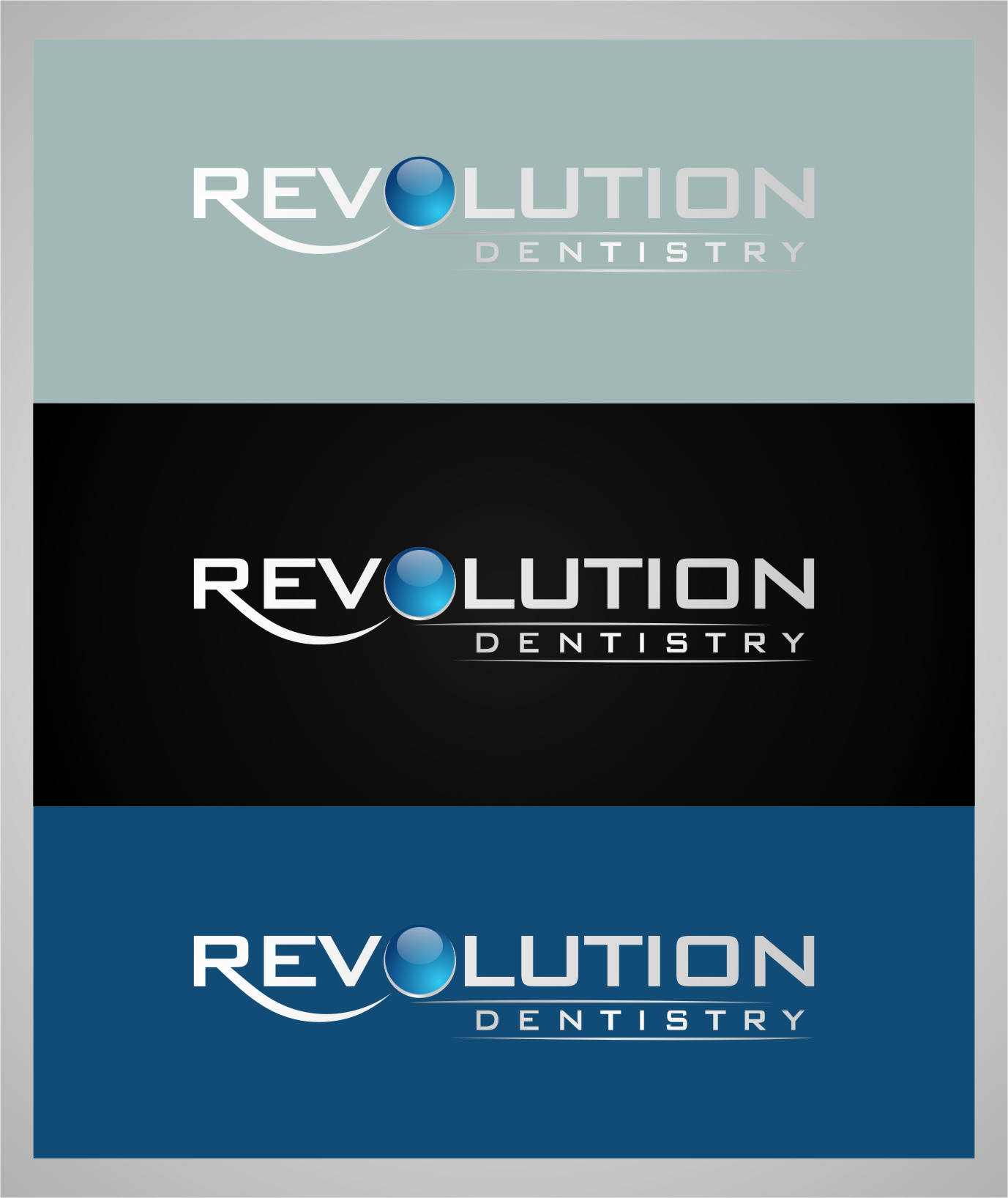 Logo Design by RasYa Muhammad Athaya - Entry No. 128 in the Logo Design Contest Artistic Logo Design for Revolution Dentistry.