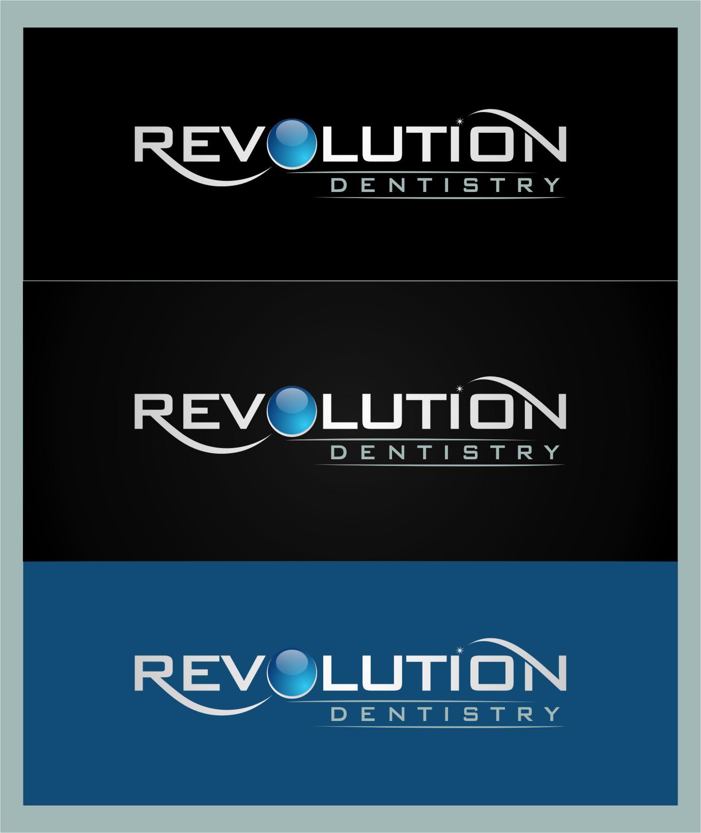 Logo Design by RasYa Muhammad Athaya - Entry No. 129 in the Logo Design Contest Artistic Logo Design for Revolution Dentistry.