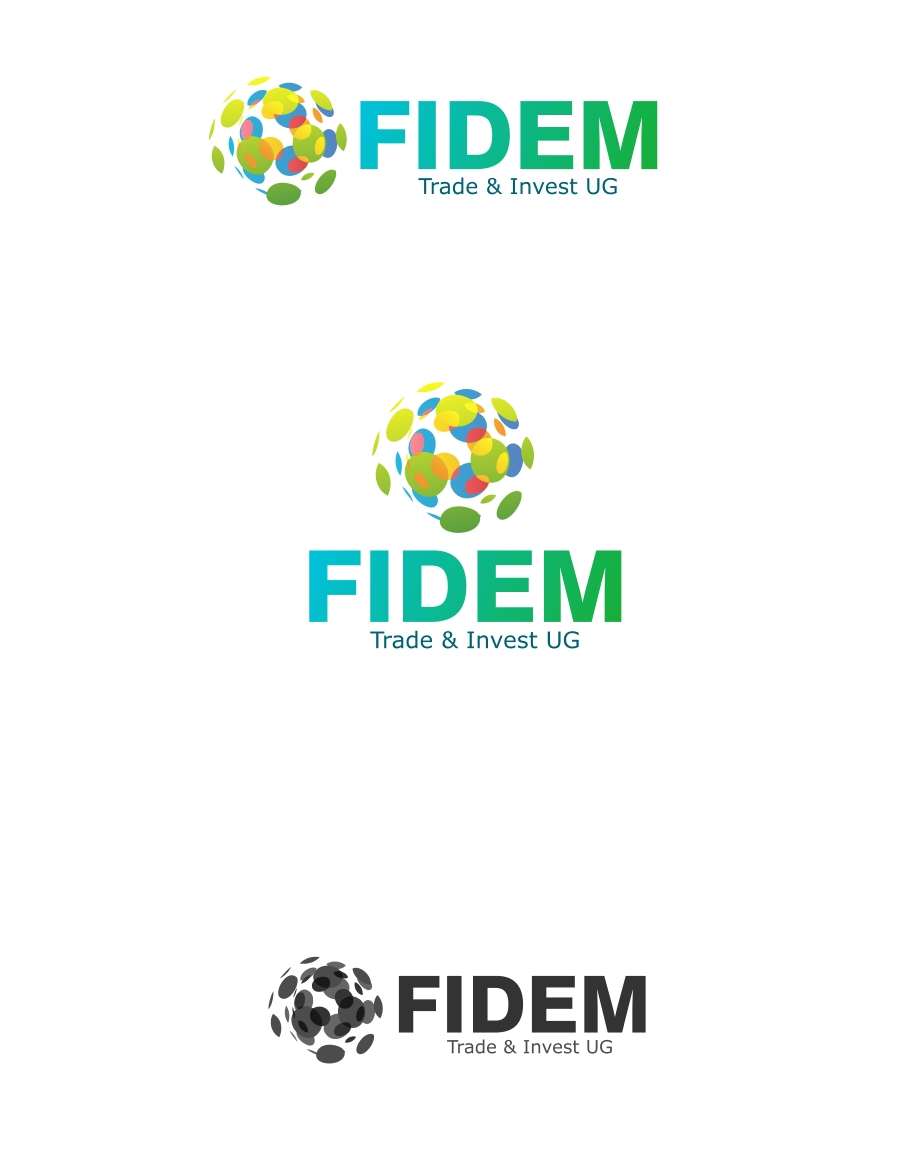 Logo Design by Private User - Entry No. 381 in the Logo Design Contest Professional Logo Design for FIDEM Trade & Invest UG.