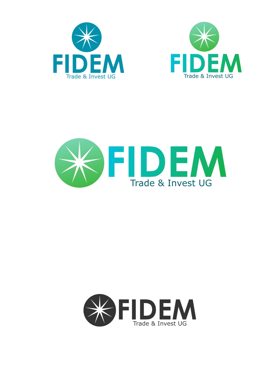 Logo Design by Private User - Entry No. 382 in the Logo Design Contest Professional Logo Design for FIDEM Trade & Invest UG.