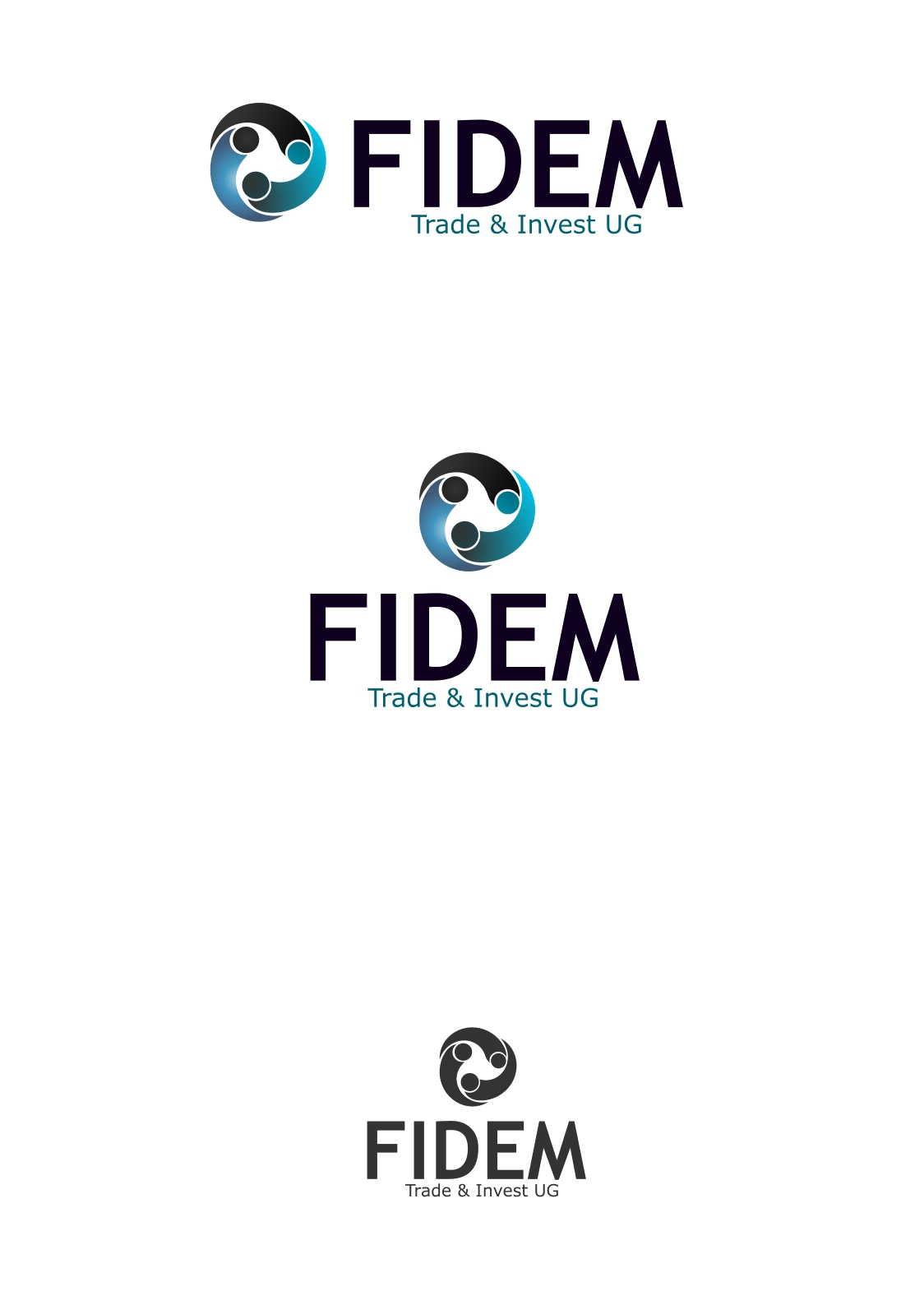 Logo Design by Private User - Entry No. 383 in the Logo Design Contest Professional Logo Design for FIDEM Trade & Invest UG.