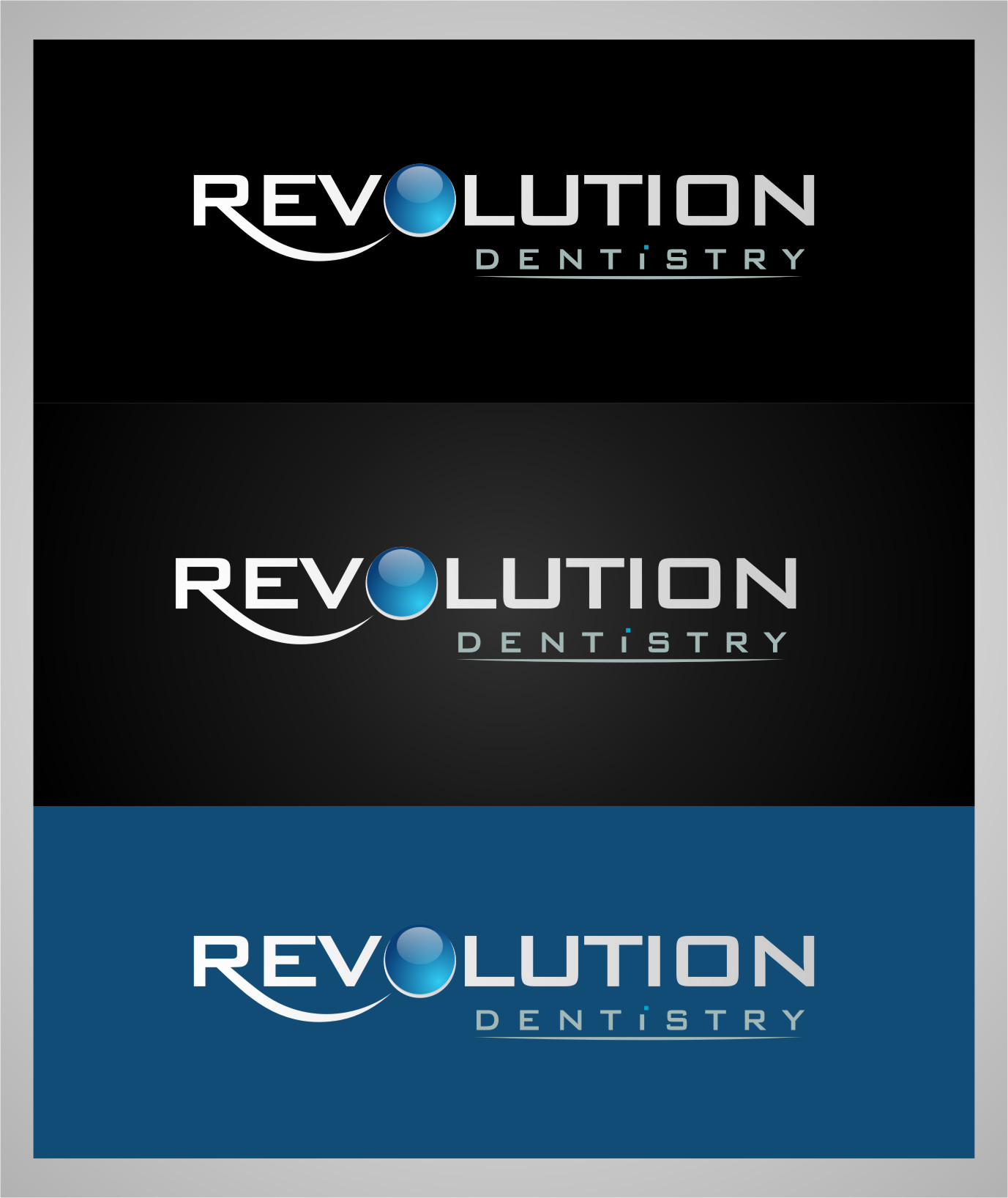 Logo Design by RasYa Muhammad Athaya - Entry No. 140 in the Logo Design Contest Artistic Logo Design for Revolution Dentistry.
