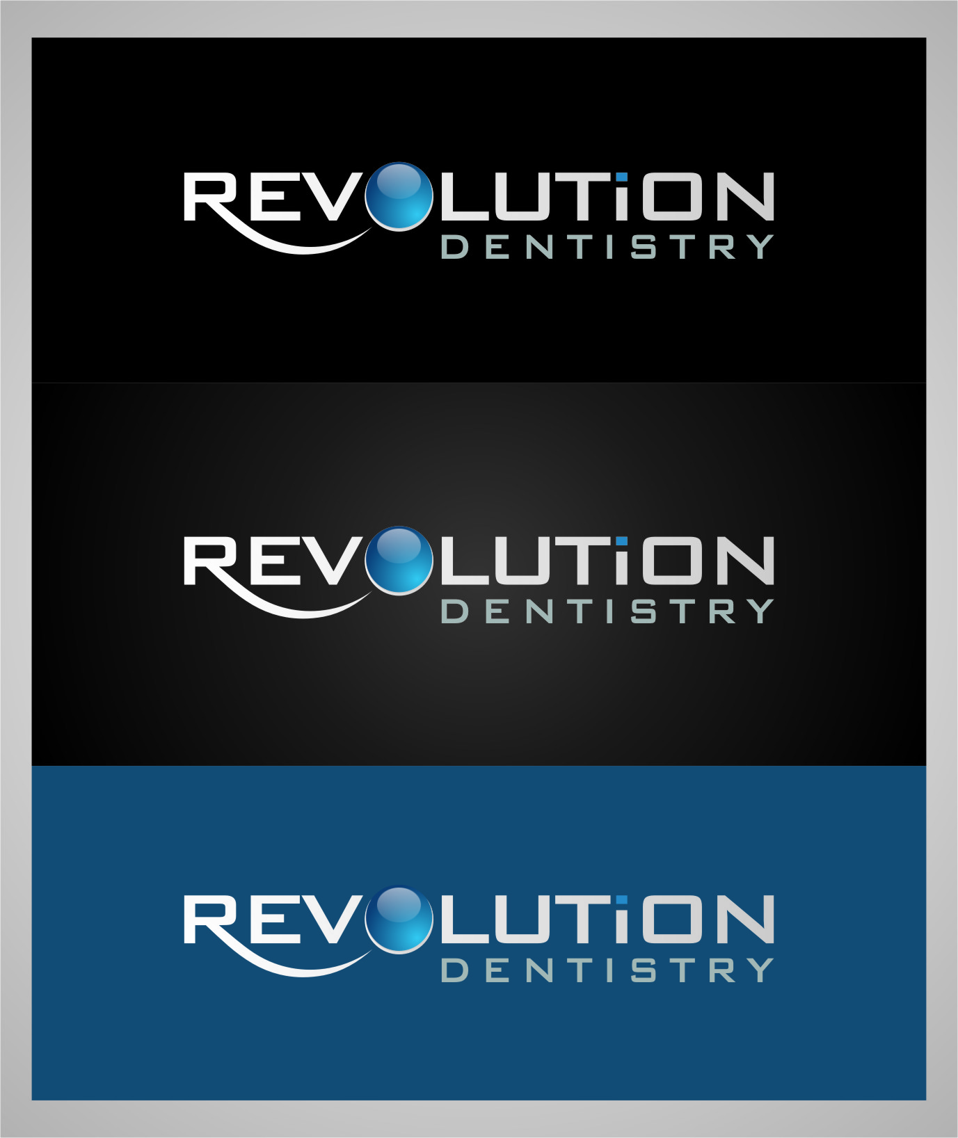 Logo Design by RoSyid Rono-Rene On Java - Entry No. 141 in the Logo Design Contest Artistic Logo Design for Revolution Dentistry.