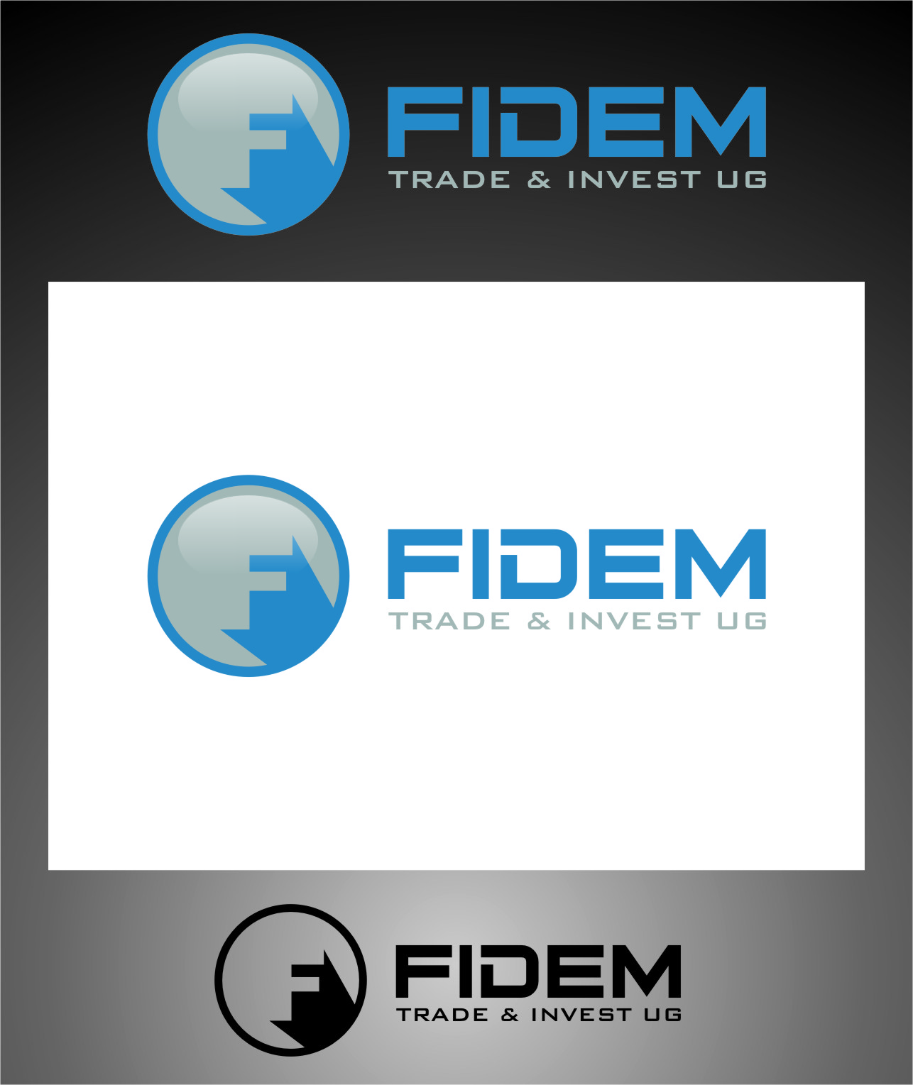 Logo Design by Ngepet_art - Entry No. 396 in the Logo Design Contest Professional Logo Design for FIDEM Trade & Invest UG.