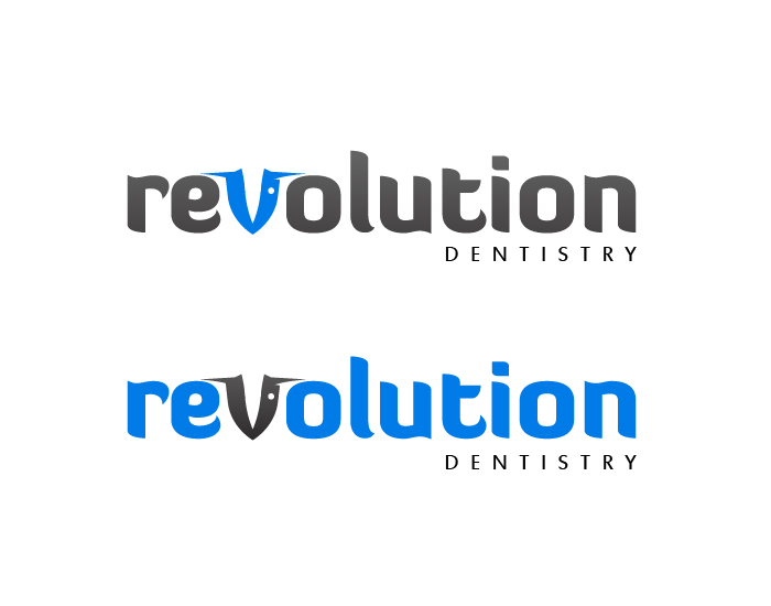 Logo Design by Top Elite - Entry No. 153 in the Logo Design Contest Artistic Logo Design for Revolution Dentistry.