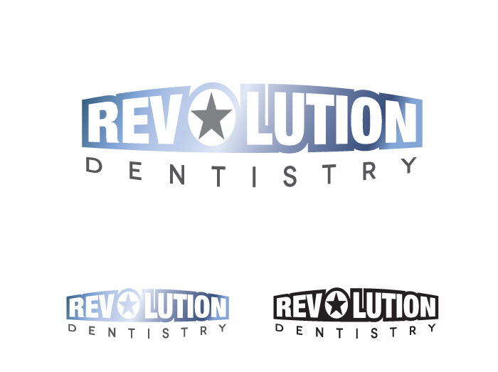 Logo Design by Laura Wood - Entry No. 156 in the Logo Design Contest Artistic Logo Design for Revolution Dentistry.