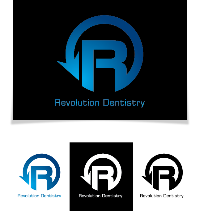 Logo Design by Chris Cowan - Entry No. 157 in the Logo Design Contest Artistic Logo Design for Revolution Dentistry.