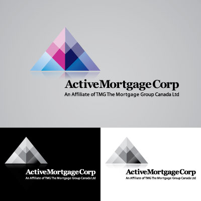 Logo Design by trabas - Entry No. 192 in the Logo Design Contest Active Mortgage Corp..