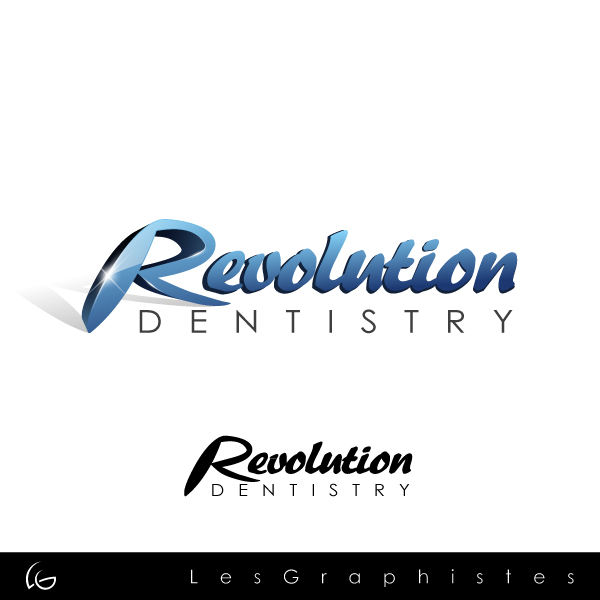 Logo Design by Les-Graphistes - Entry No. 162 in the Logo Design Contest Artistic Logo Design for Revolution Dentistry.