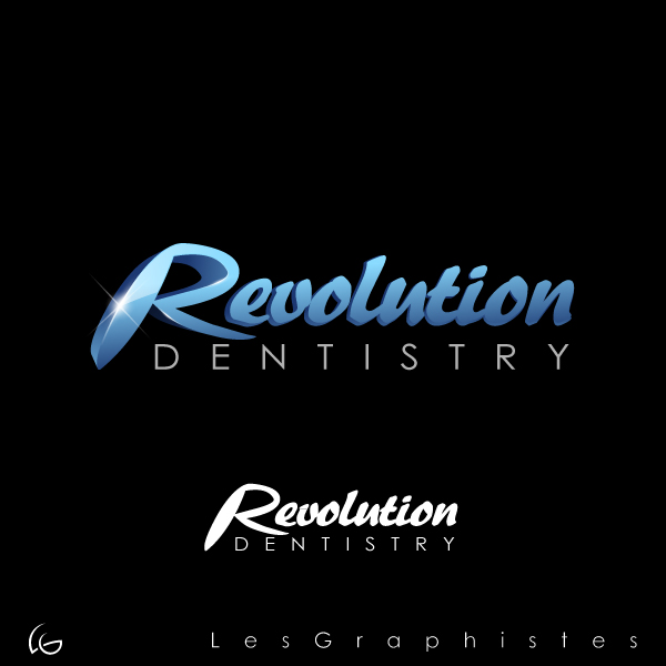 Logo Design by Les-Graphistes - Entry No. 163 in the Logo Design Contest Artistic Logo Design for Revolution Dentistry.