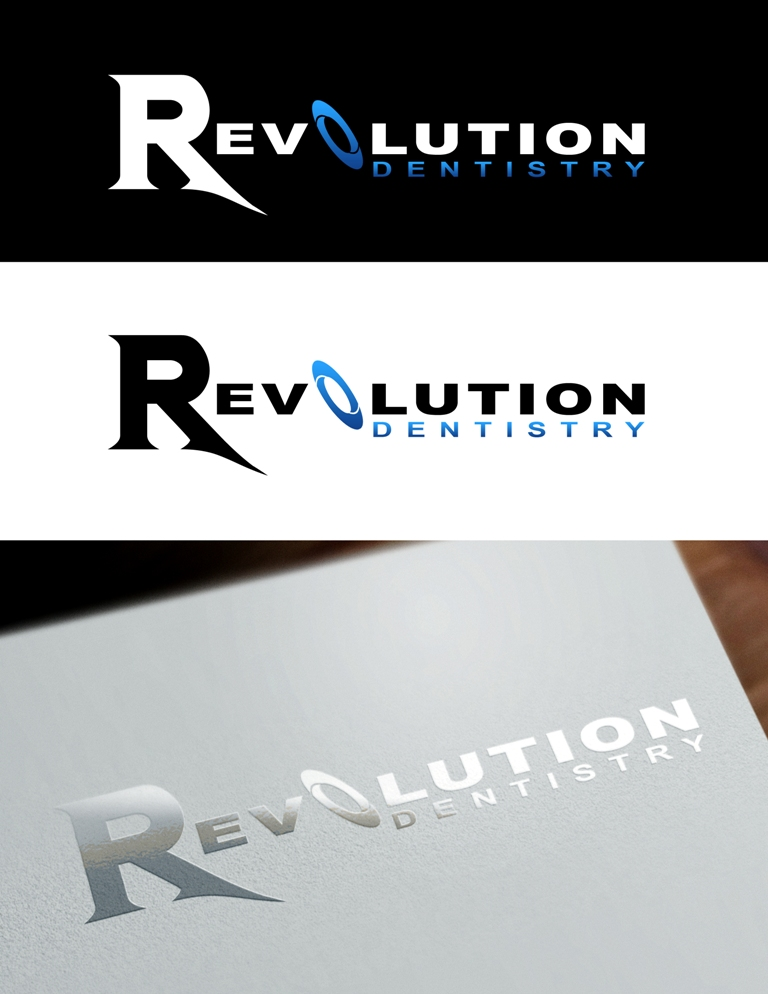 Logo Design by Juan_Kata - Entry No. 167 in the Logo Design Contest Artistic Logo Design for Revolution Dentistry.