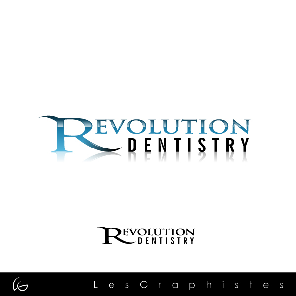 Logo Design by Les-Graphistes - Entry No. 168 in the Logo Design Contest Artistic Logo Design for Revolution Dentistry.
