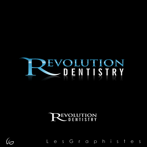 Logo Design by Les-Graphistes - Entry No. 169 in the Logo Design Contest Artistic Logo Design for Revolution Dentistry.