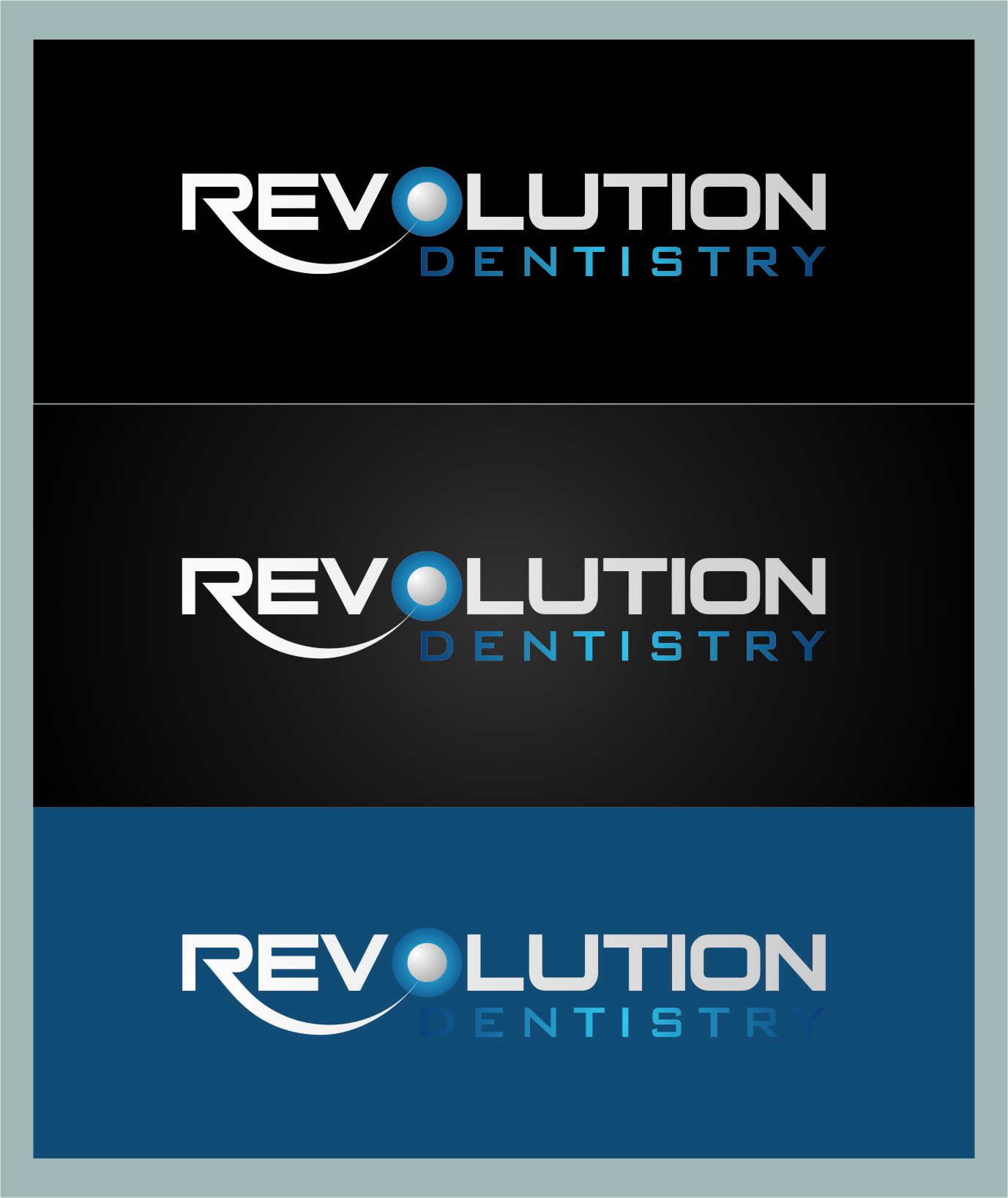 Logo Design by Ngepet_art - Entry No. 170 in the Logo Design Contest Artistic Logo Design for Revolution Dentistry.
