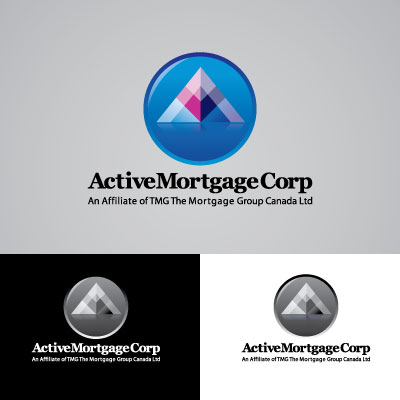 Logo Design by trabas - Entry No. 195 in the Logo Design Contest Active Mortgage Corp..