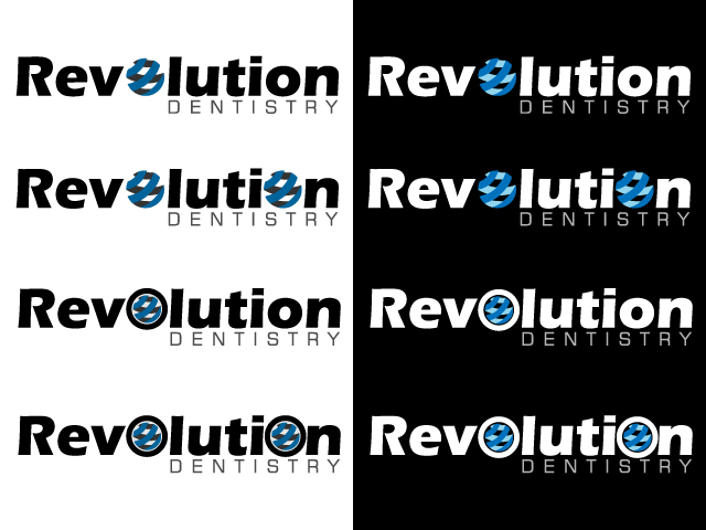 Logo Design by ronik.web - Entry No. 174 in the Logo Design Contest Artistic Logo Design for Revolution Dentistry.