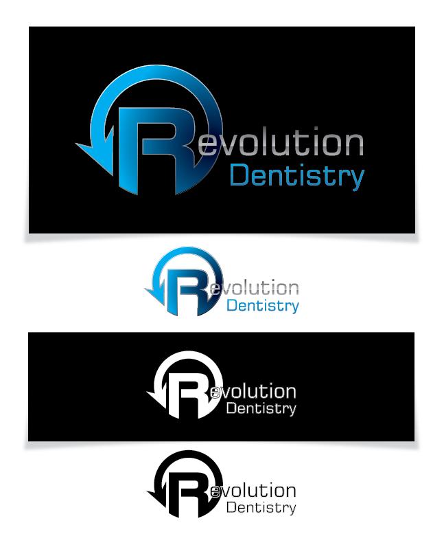 Logo Design by Chris Cowan - Entry No. 178 in the Logo Design Contest Artistic Logo Design for Revolution Dentistry.