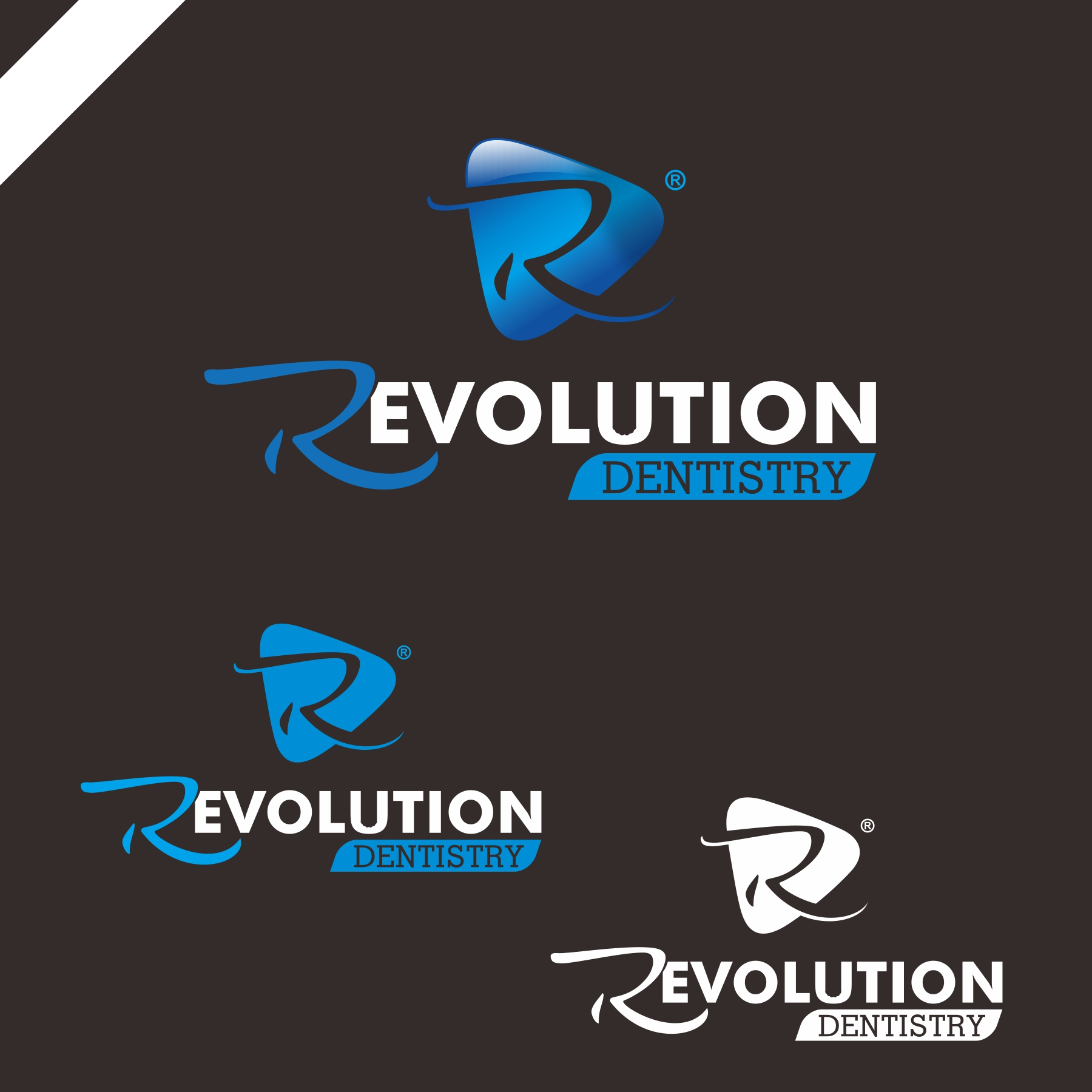 Logo Design by PJD - Entry No. 179 in the Logo Design Contest Artistic Logo Design for Revolution Dentistry.
