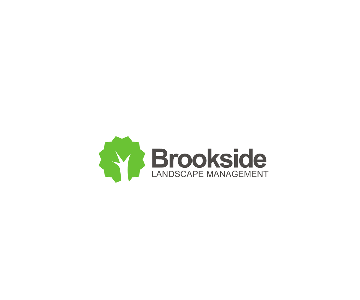 Logo Design by him555 - Entry No. 107 in the Logo Design Contest New Logo Design for Brookside Landscape Management.