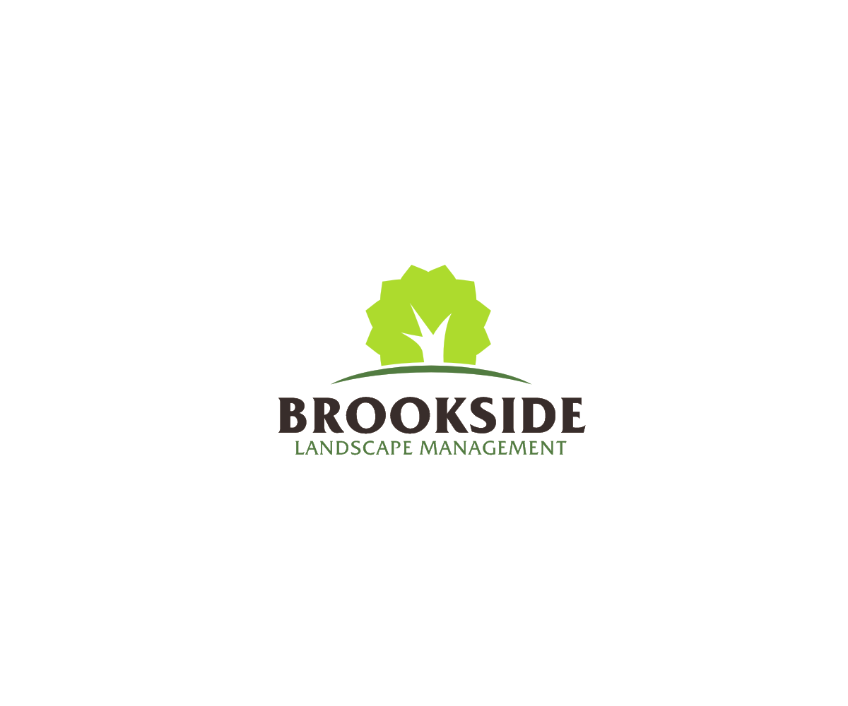 Logo Design by him555 - Entry No. 108 in the Logo Design Contest New Logo Design for Brookside Landscape Management.