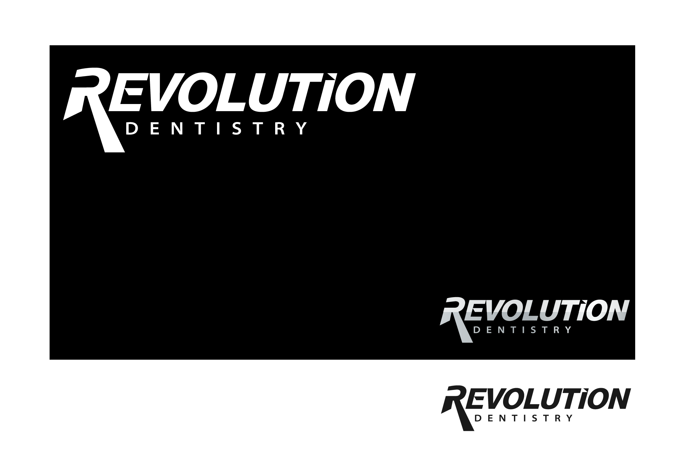 Logo Design by Abhishek Saini - Entry No. 180 in the Logo Design Contest Artistic Logo Design for Revolution Dentistry.