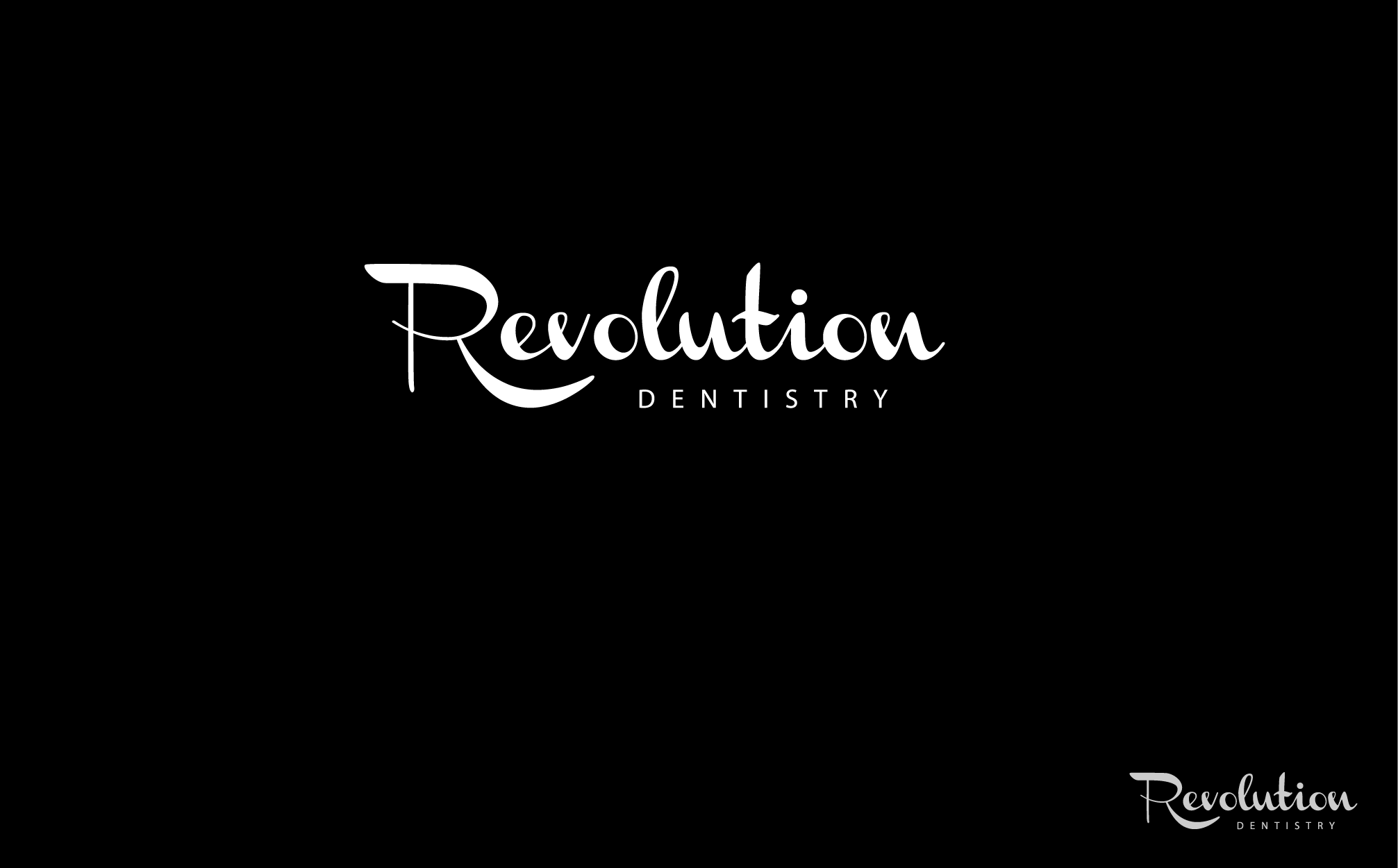Logo Design by Abhishek Saini - Entry No. 181 in the Logo Design Contest Artistic Logo Design for Revolution Dentistry.