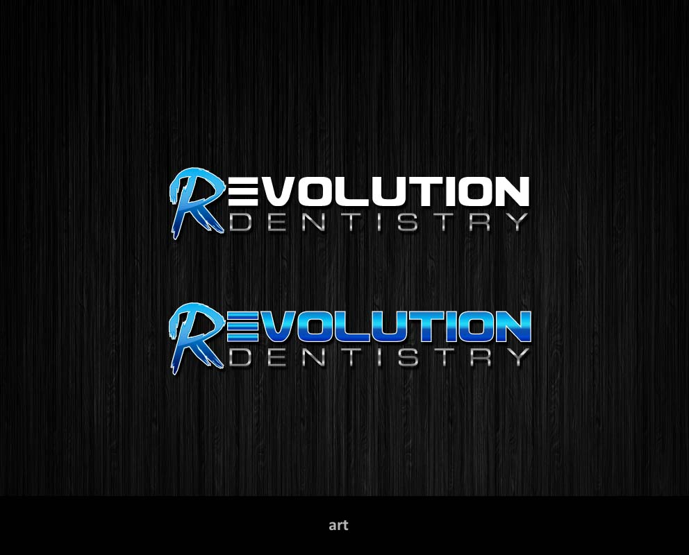 Logo Design by Puspita Wahyuni - Entry No. 183 in the Logo Design Contest Artistic Logo Design for Revolution Dentistry.