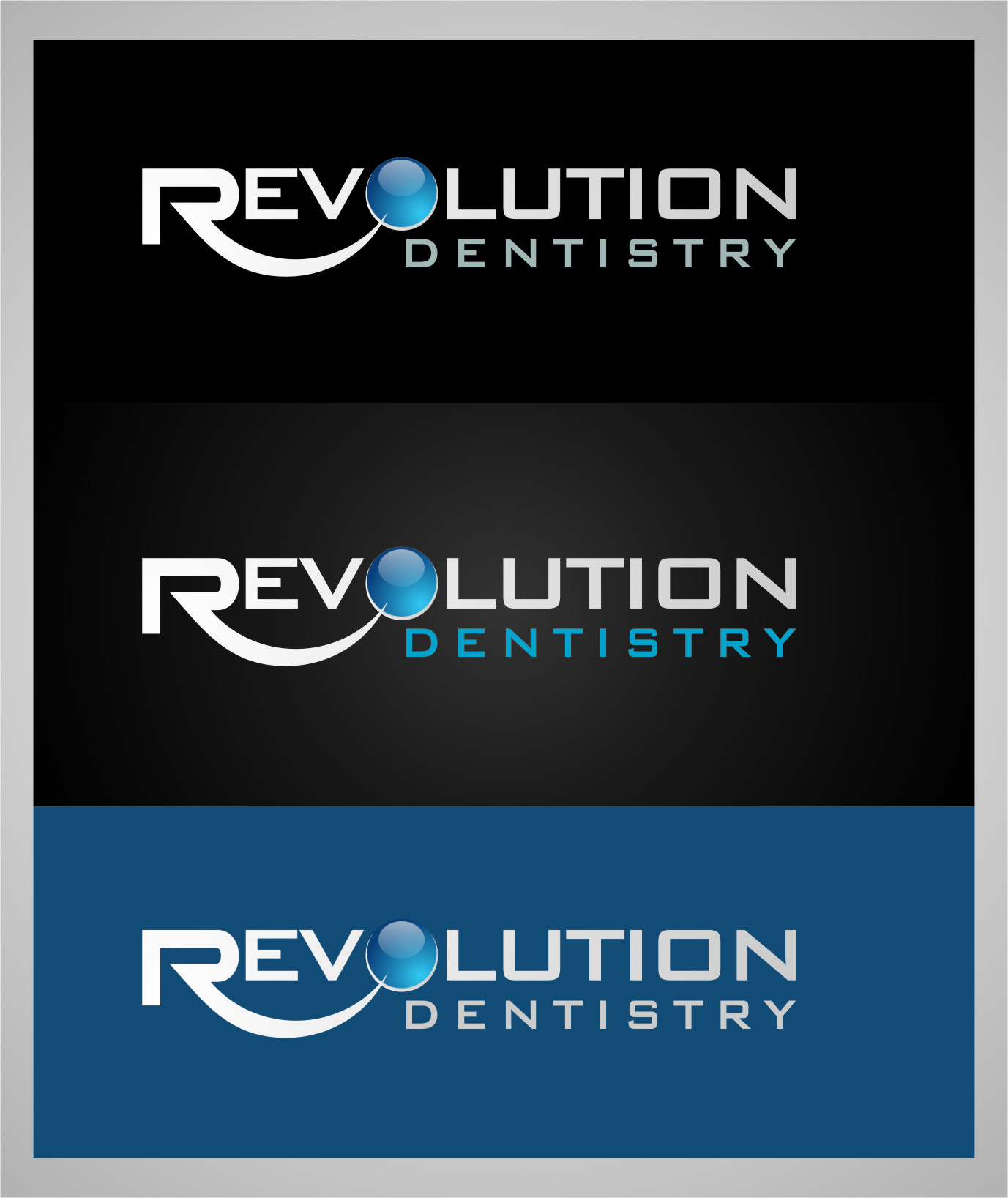 Logo Design by Ngepet_art - Entry No. 186 in the Logo Design Contest Artistic Logo Design for Revolution Dentistry.
