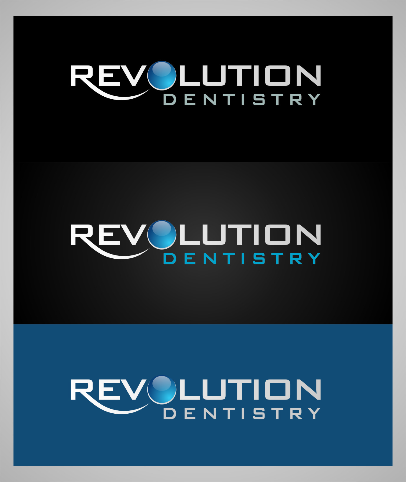 Logo Design by RasYa Muhammad Athaya - Entry No. 187 in the Logo Design Contest Artistic Logo Design for Revolution Dentistry.