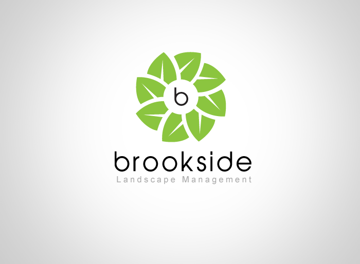 Logo Design by Jan Chua - Entry No. 110 in the Logo Design Contest New Logo Design for Brookside Landscape Management.